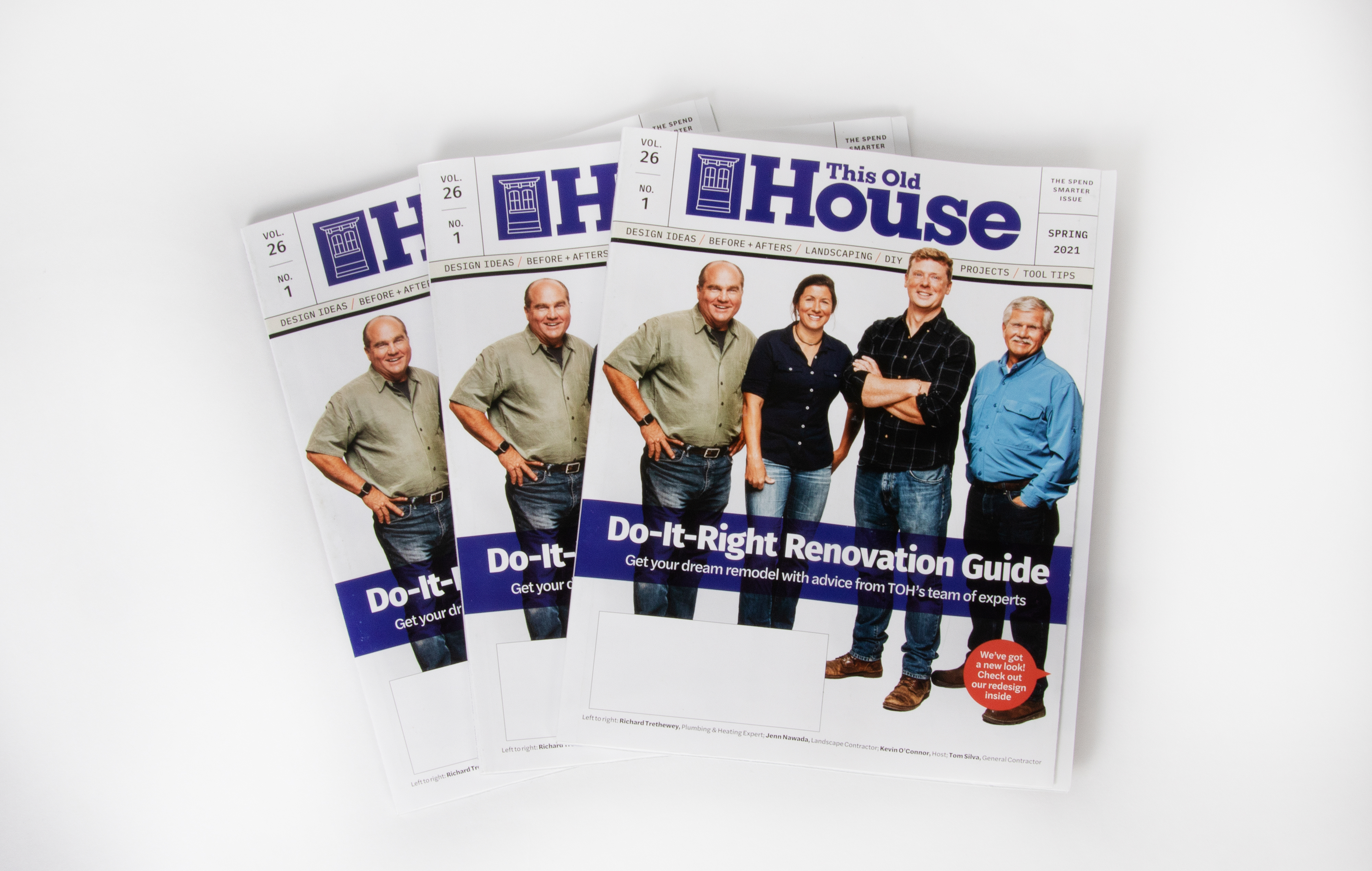 Spring 2021 issue of This Old House magazine