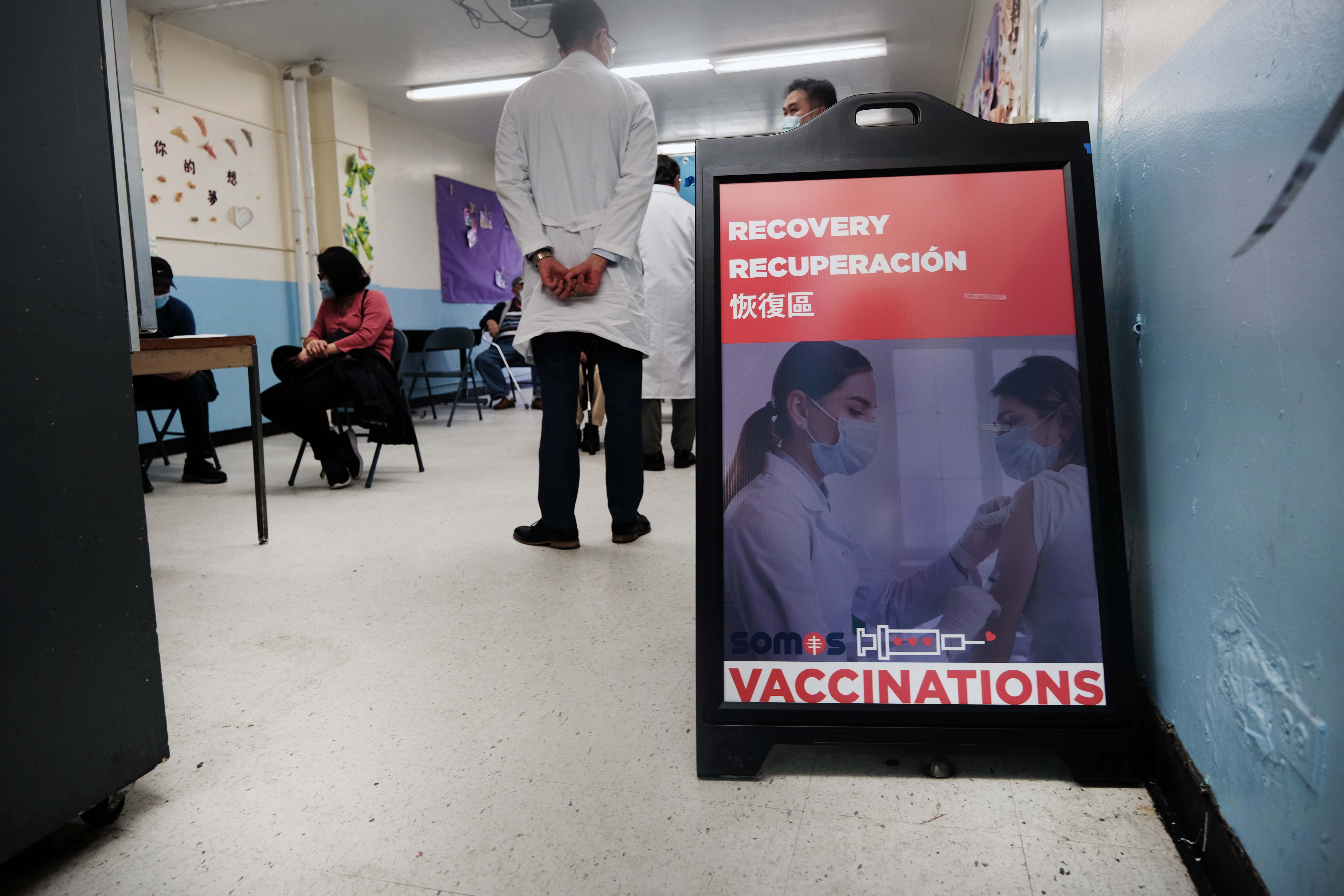 New York Opens 14 Pop-Up Vaccination Sites Throughout State