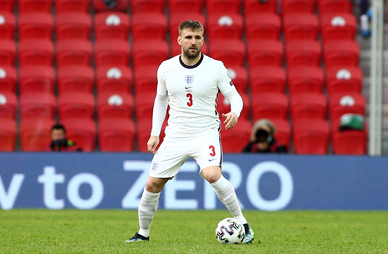 Luke Shaw - England - FIFA World Cup Qualifier