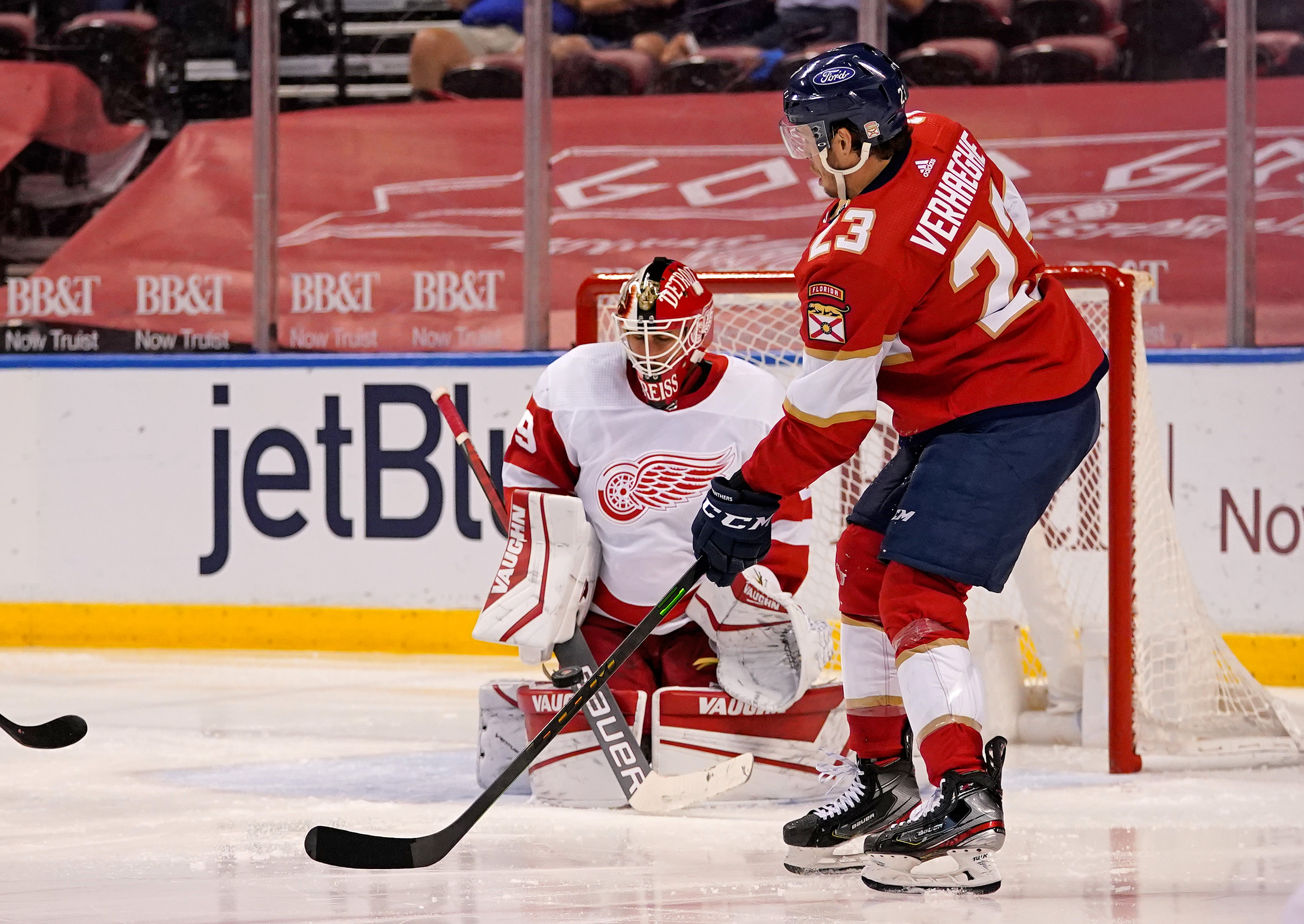 NHL: Detroit Red Wings at Florida Panthers