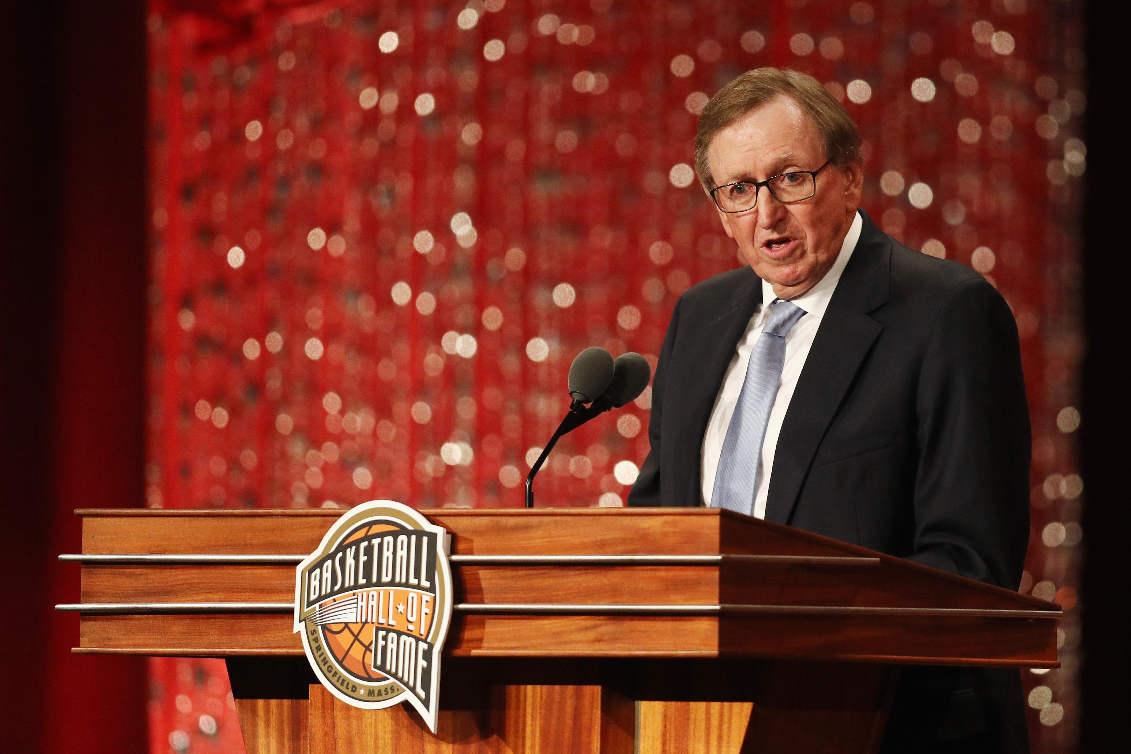 2018篮球名人堂纪念仪式