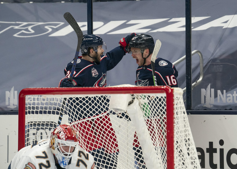 NHL: MAR 11 Panthers at Blue Jackets