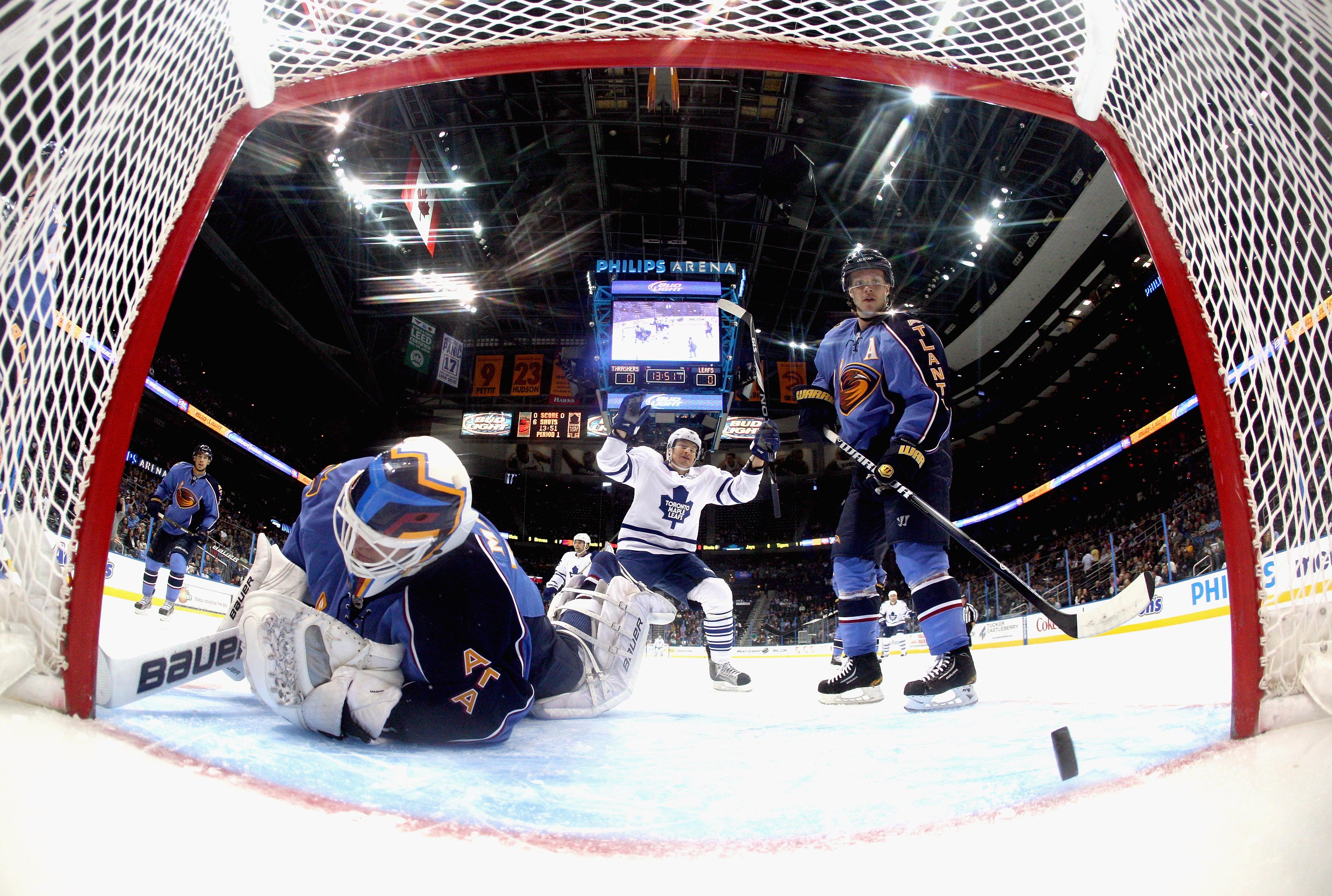 Toronto Maple Leafs v Atlanta Thrashers