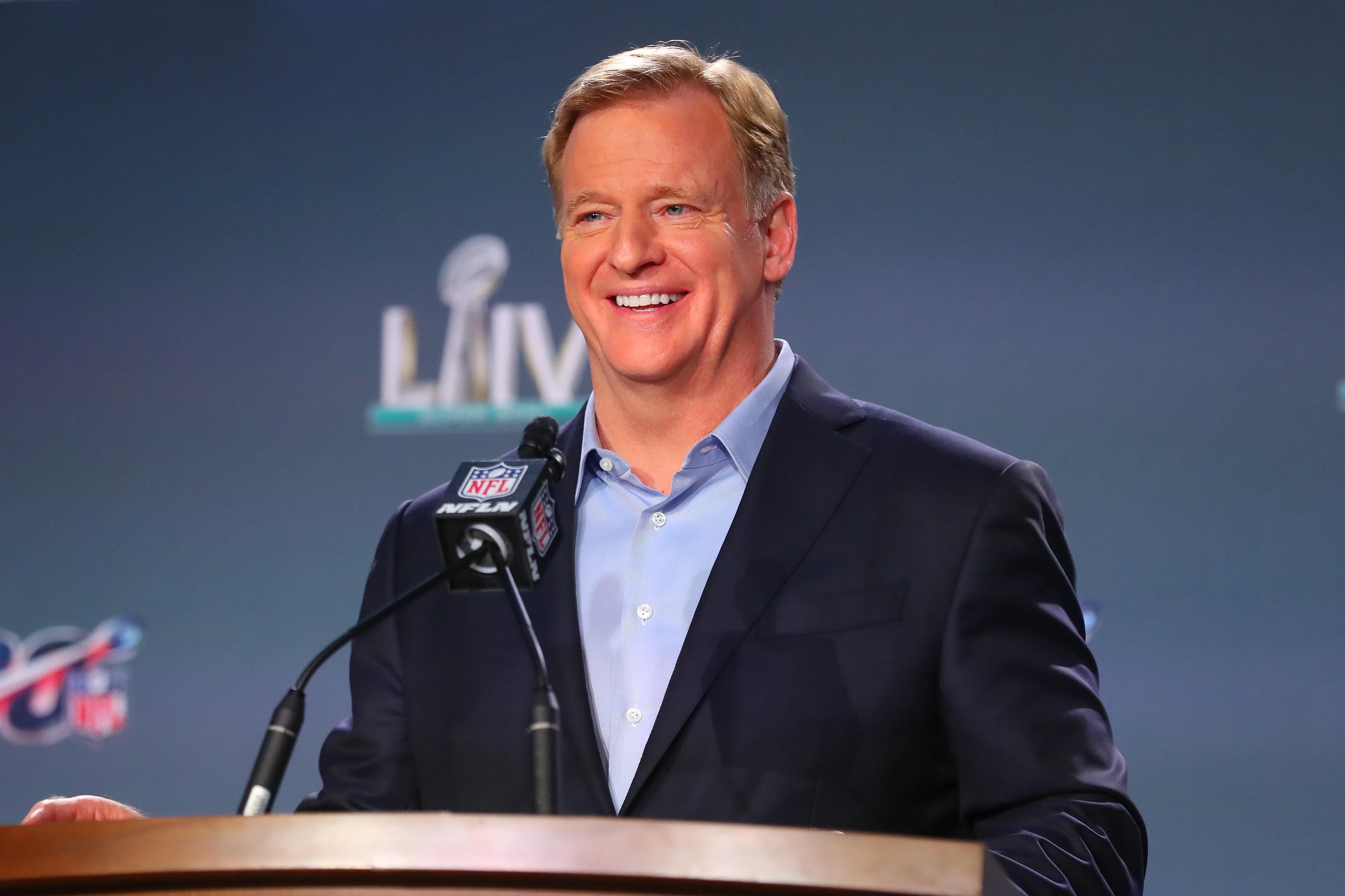 NFL: JAN 29 Super Bowl LIV - Commissioners Press Conference