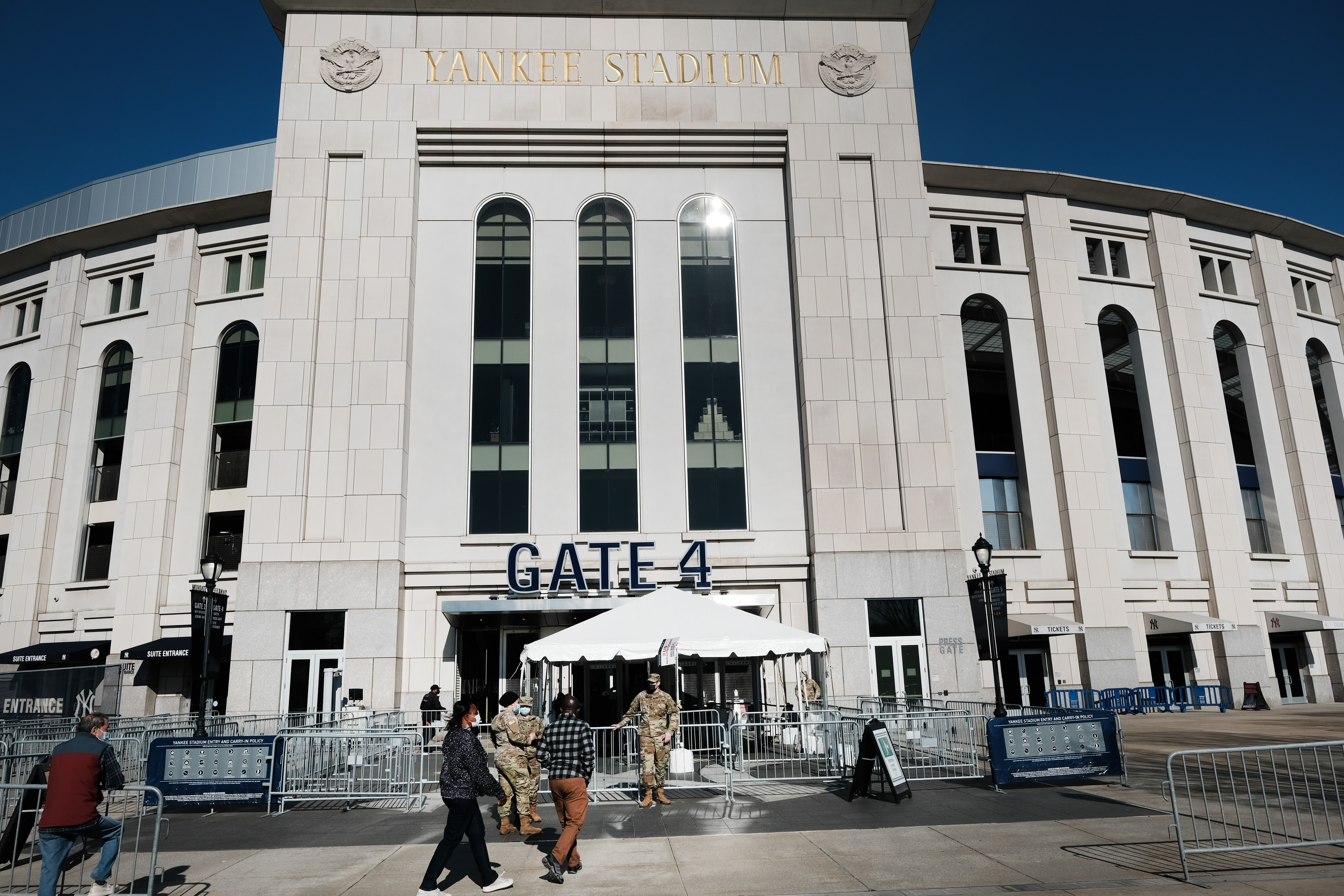 Yankee Stadium To Remain Vaccination Site As Season Begins With In-Person Fans