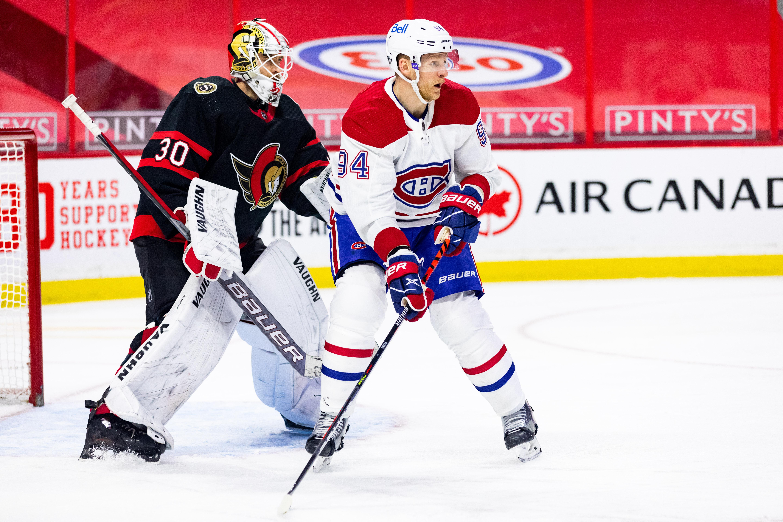 NHL: FEB 23 Canadiens at Senators