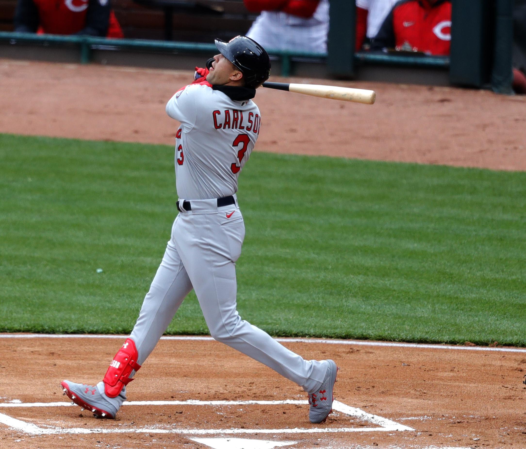 MLB:辛辛那提红色的圣路易斯红雀队