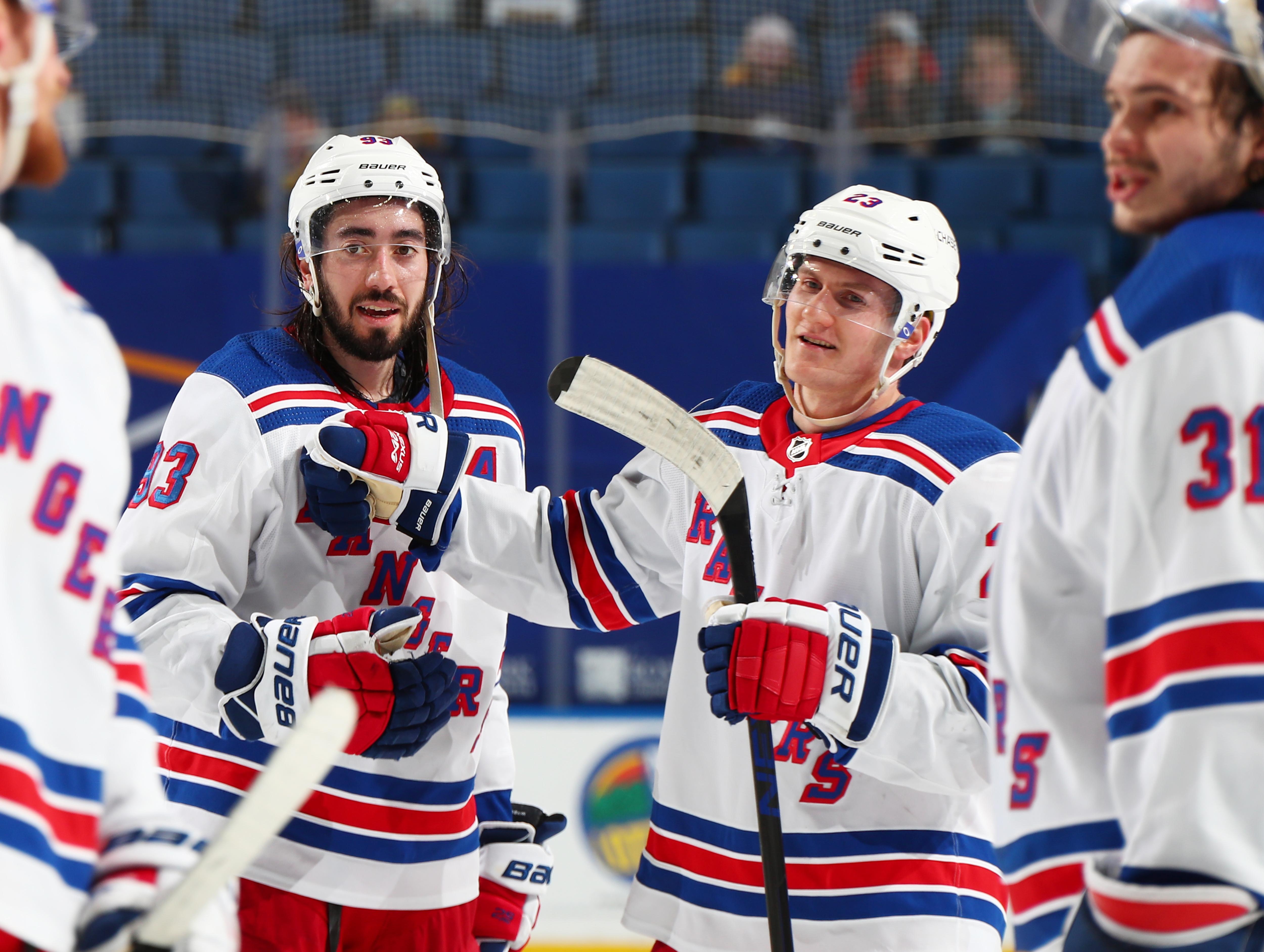 New York Rangers v Buffalo Sabres
