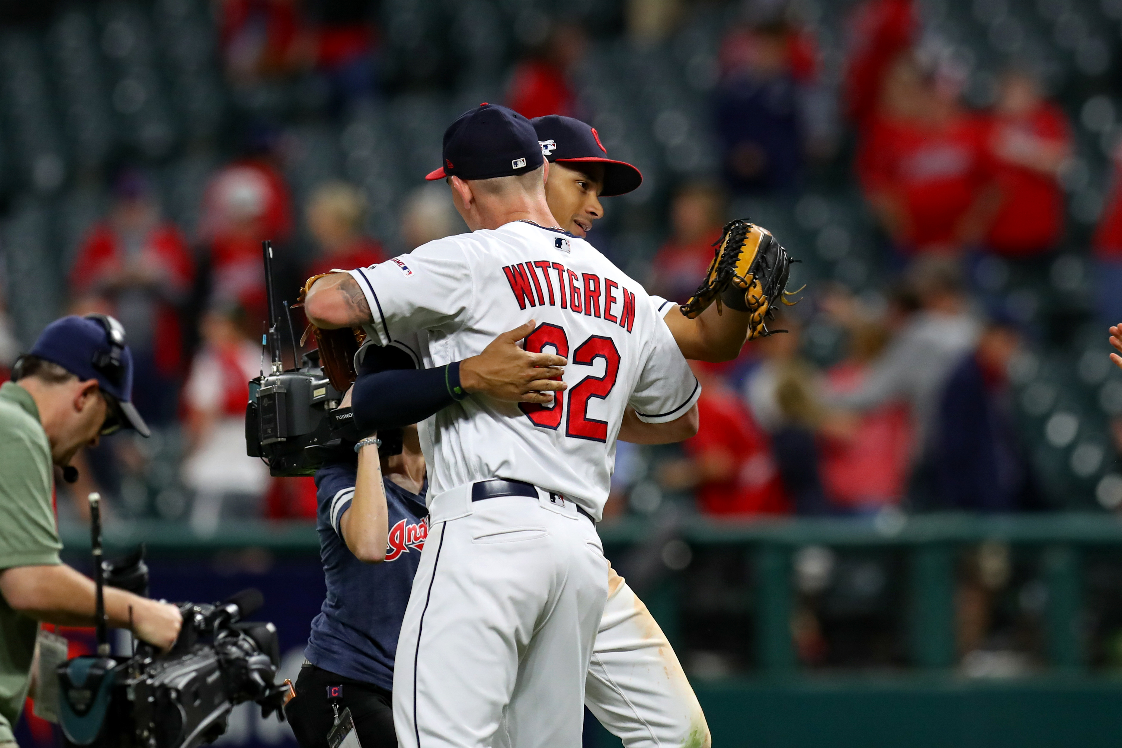MLB: SEP 04 White Sox at Indians