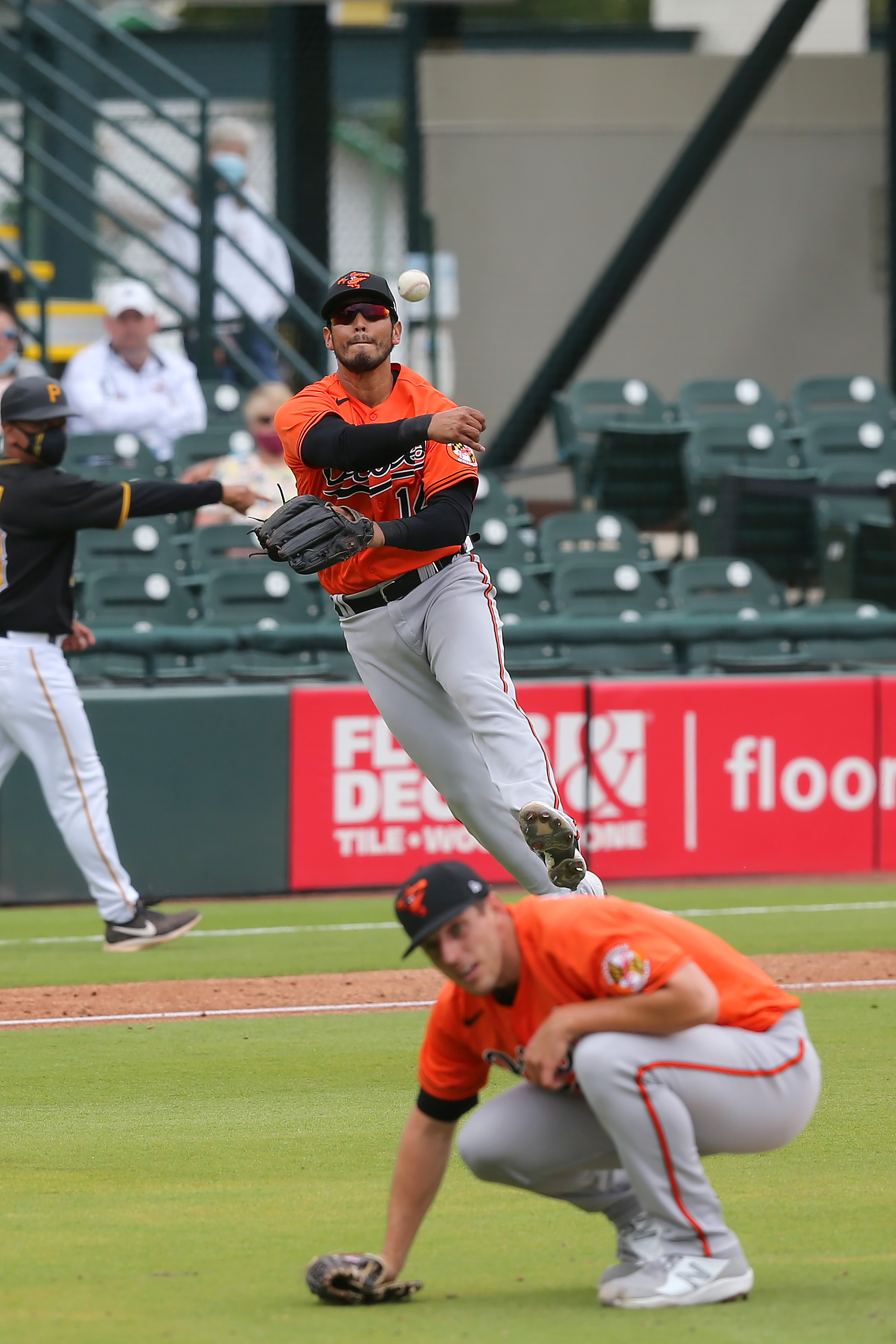 MLB: MAR 22 Spring Training - Orioles at Pirates