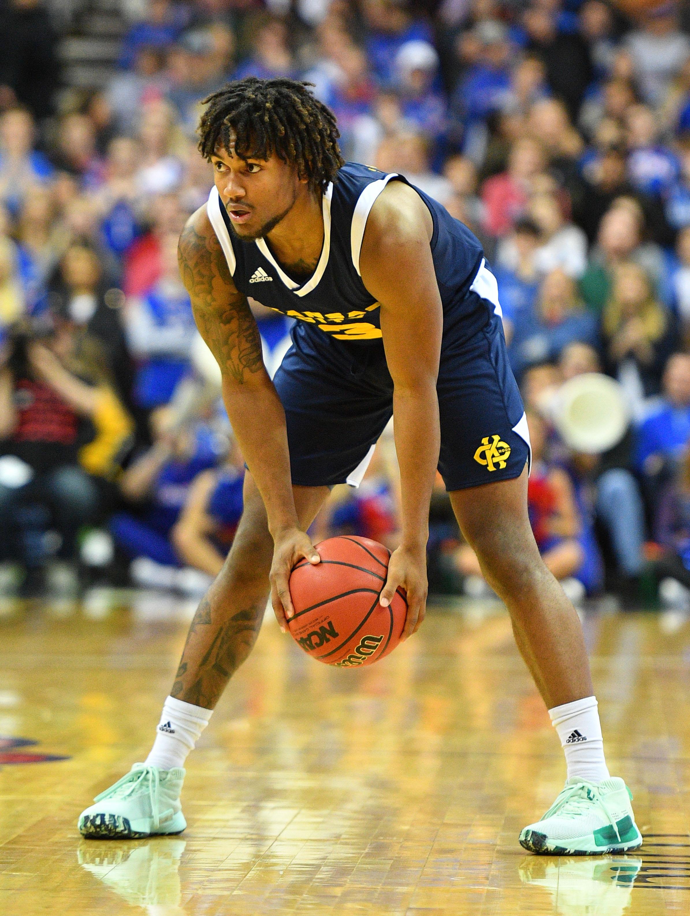 NCAA Basketball: UMKC at Kansas