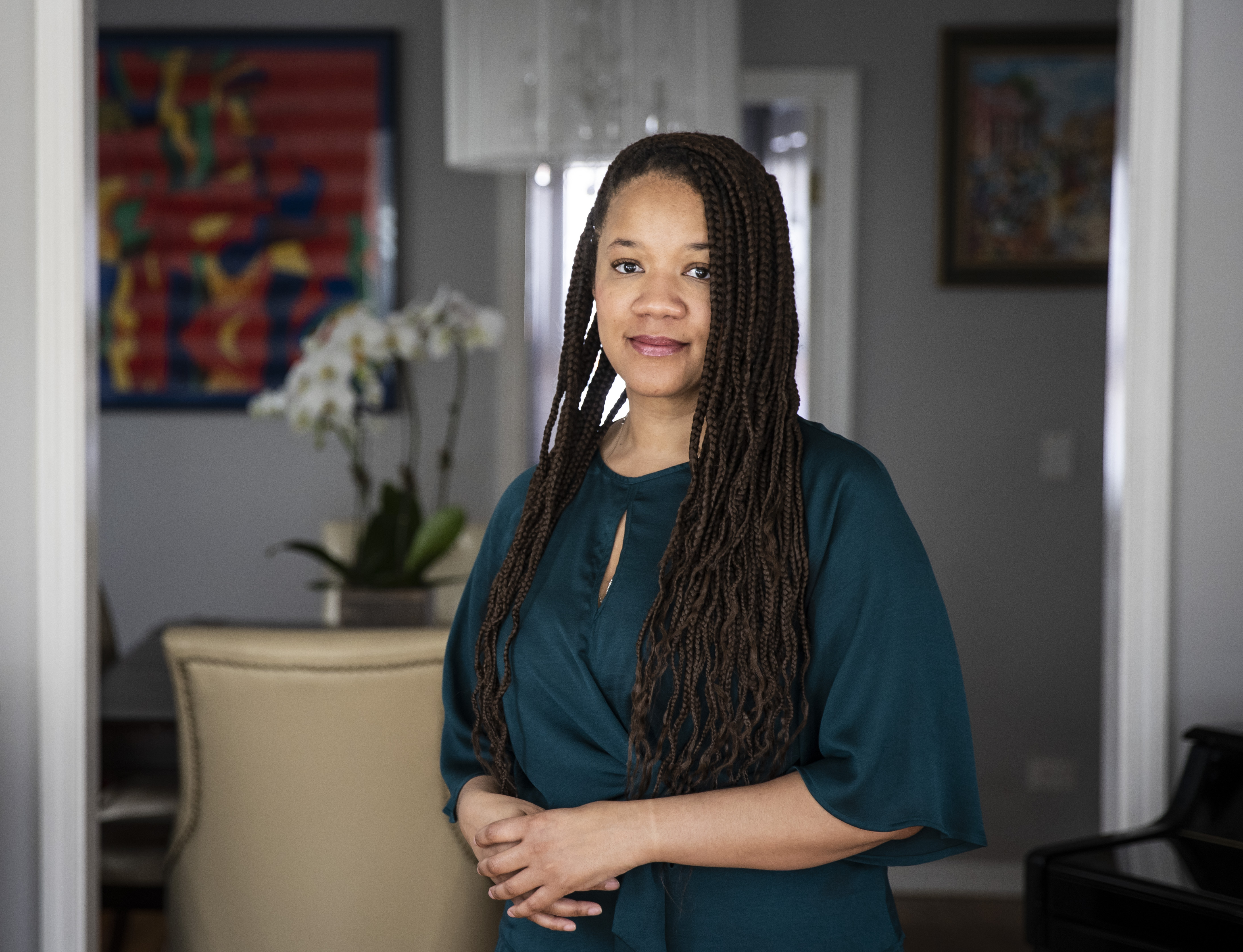 Evanston Ald. Robin Rue Simmons, who led the effort for the city's first-in-the-nation reparations plan.