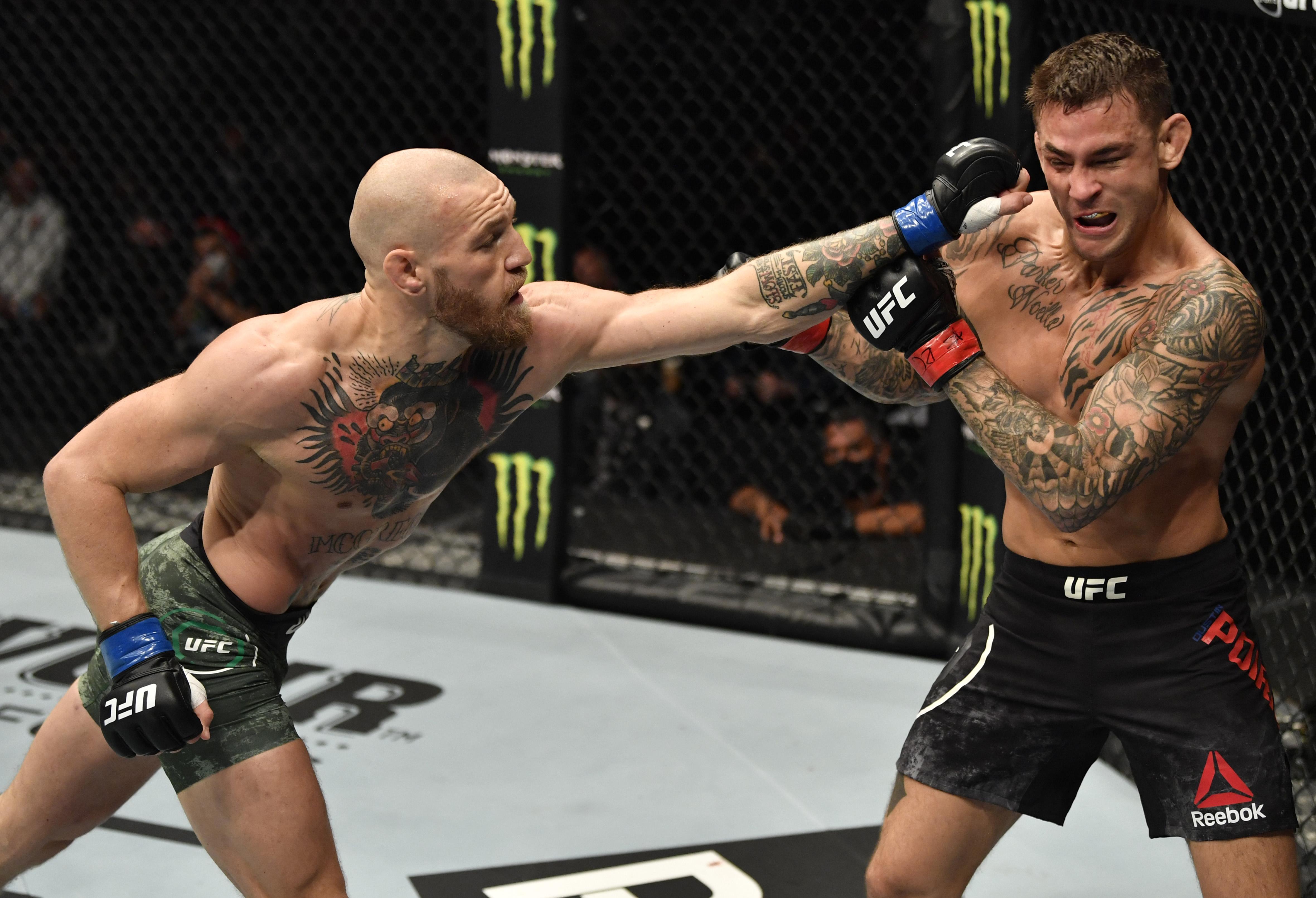 UFC 257: Poirier诉McGregor