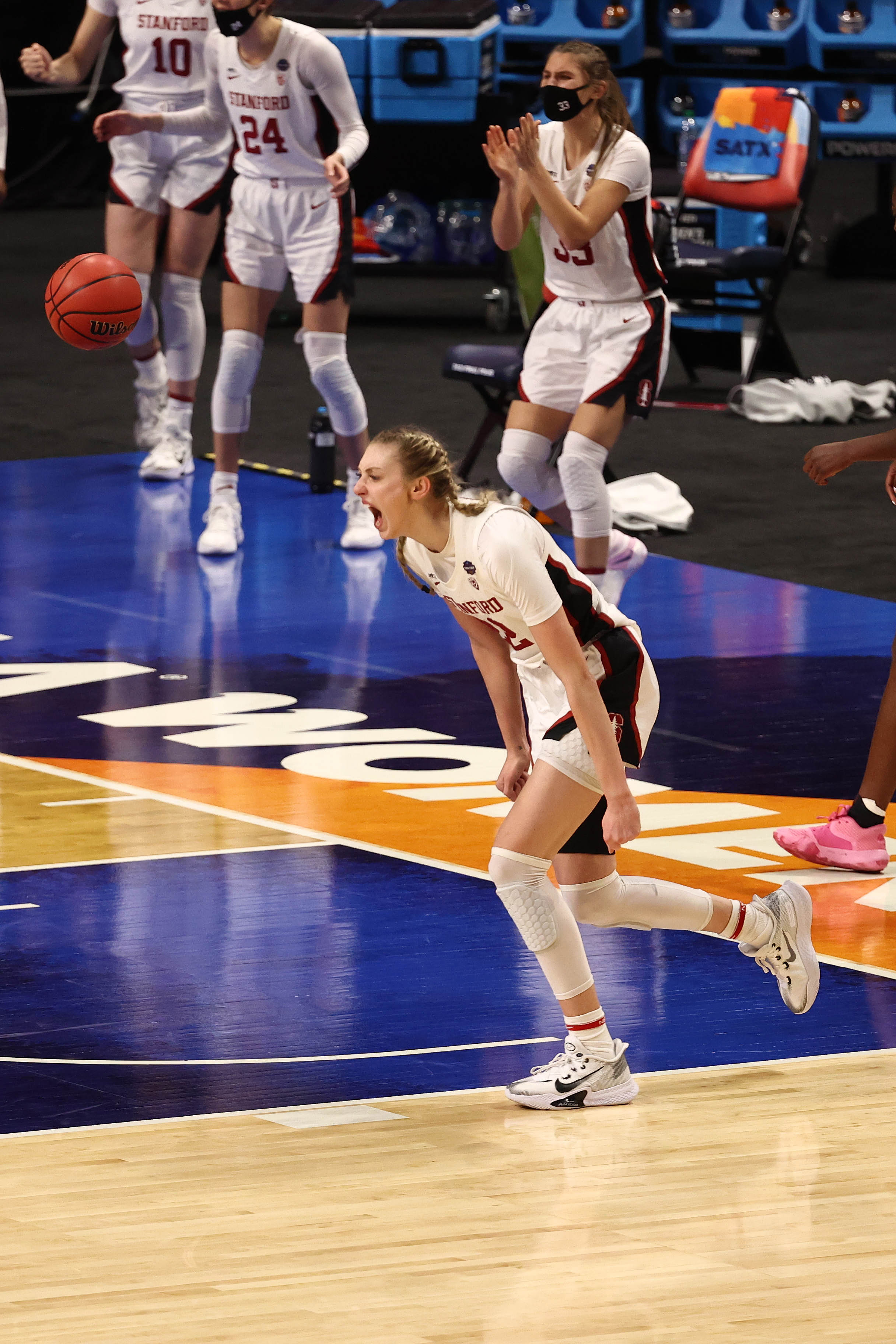 NCAA Womens Basketball: Final Four Semifinal-South Carolina at Stanford