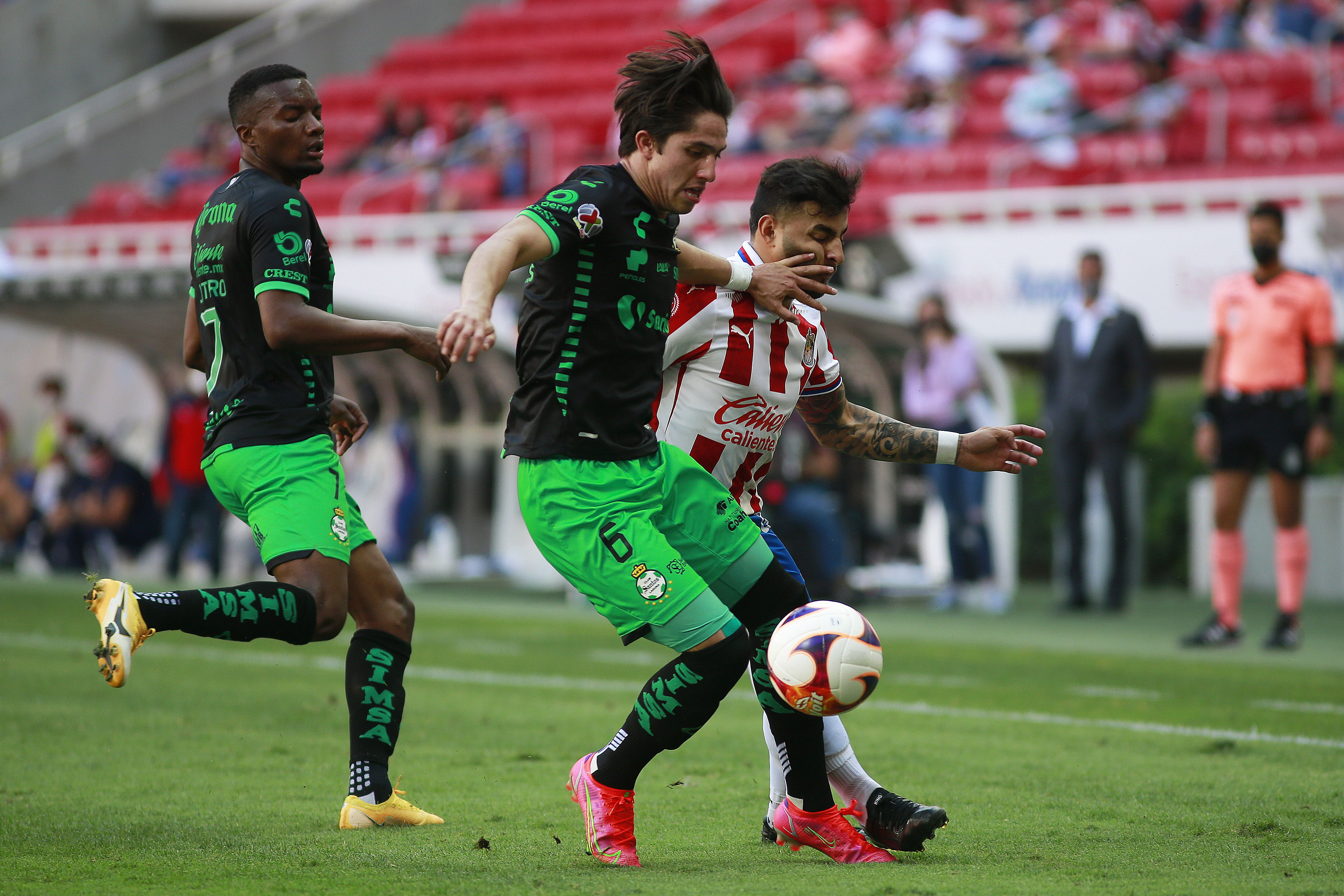 Chivas v Santos Laguna - Torneo Guard1anes 2021 Liga MX