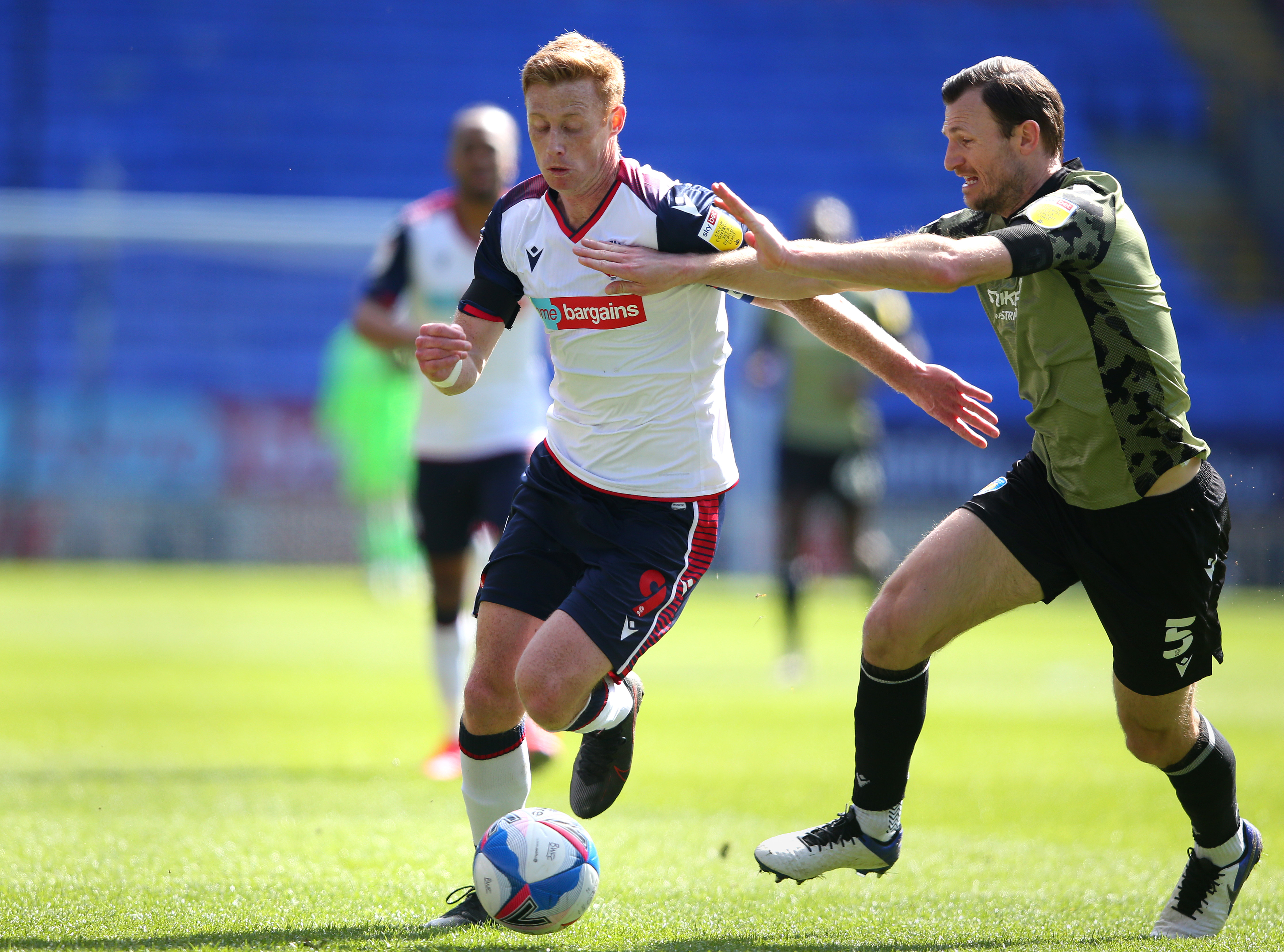 Bolton Wanderers v Colchester United - Sky Bet League Two