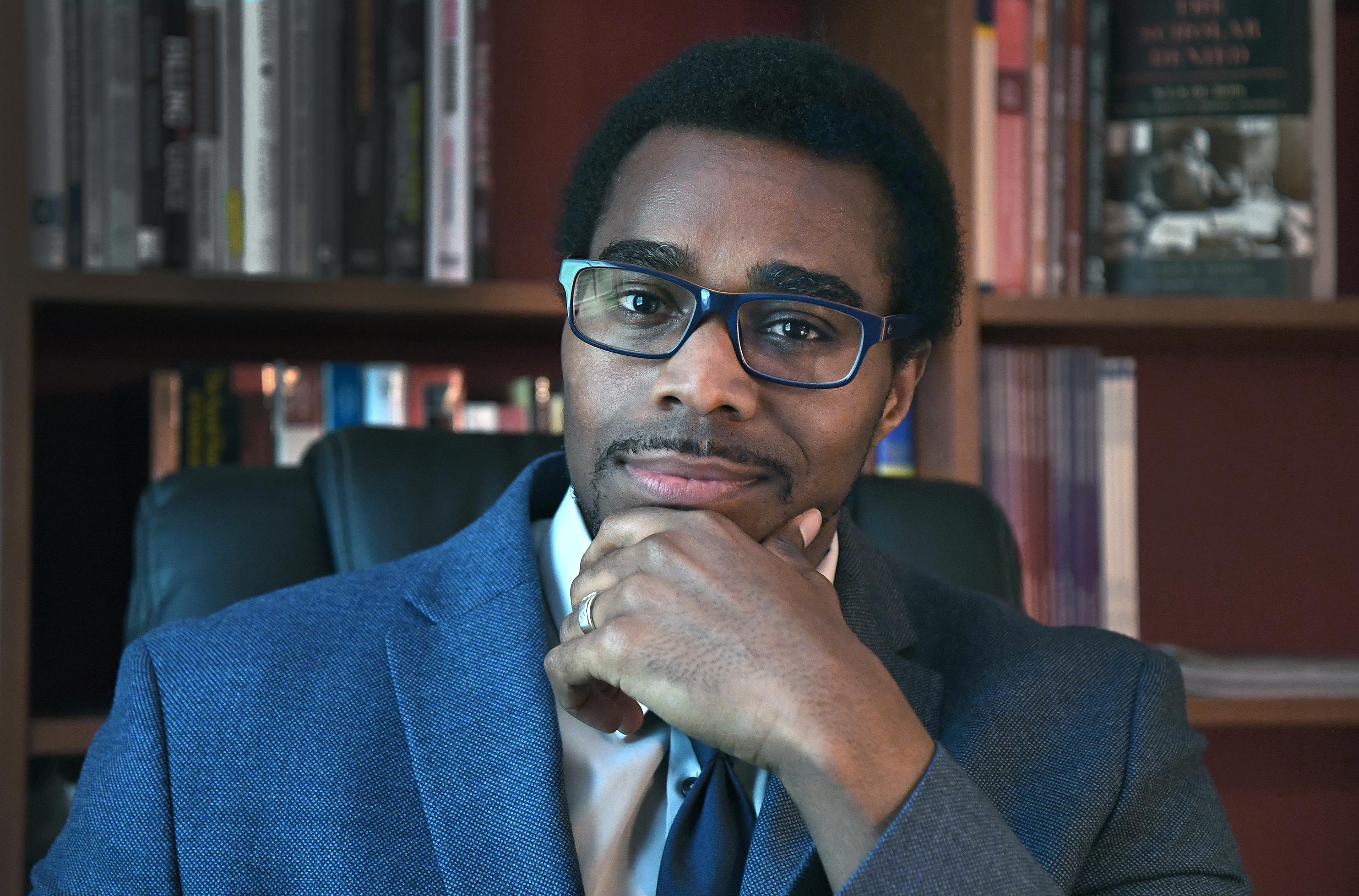 研究人员拉肖恩·雷研究了警务中的种族差异
