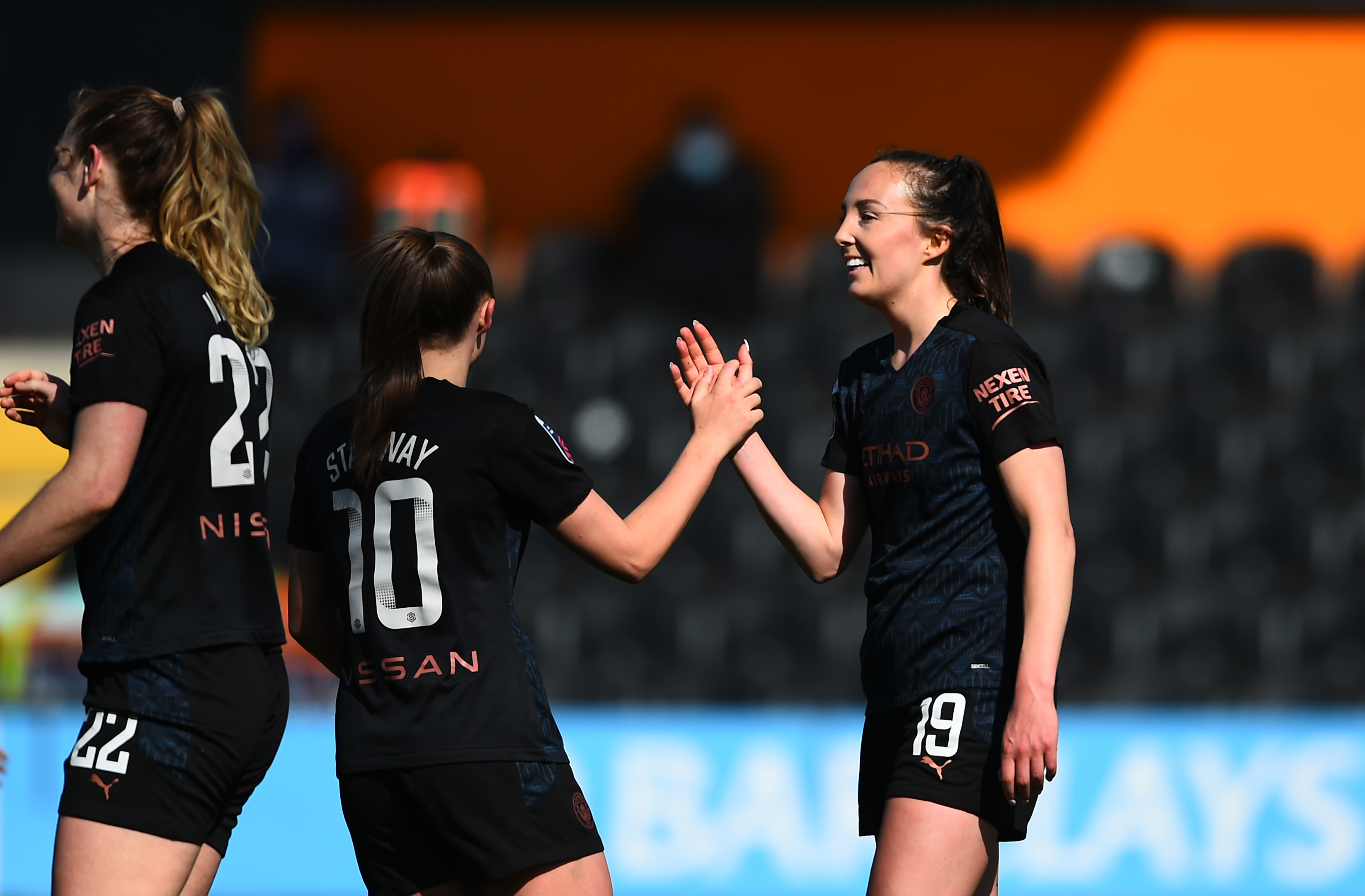 Tottenham Hotspur Women v Manchester City Women - Barclays FA Women's Super League