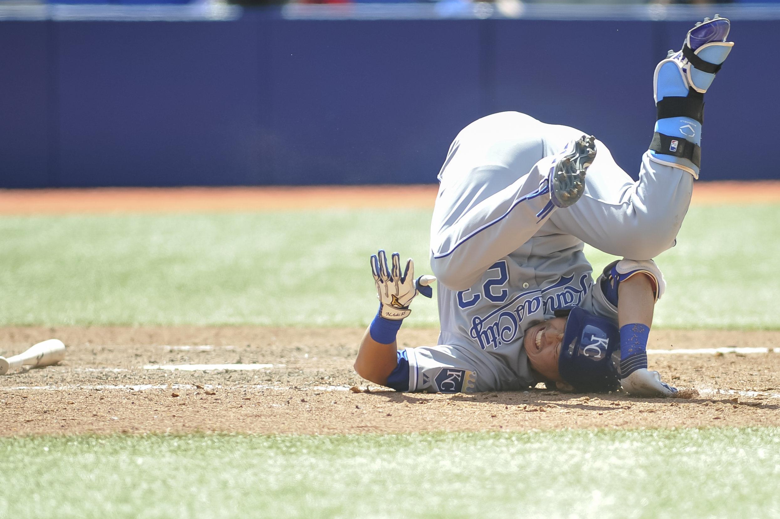 MLB: MAY 31 Royals at Blue Jays