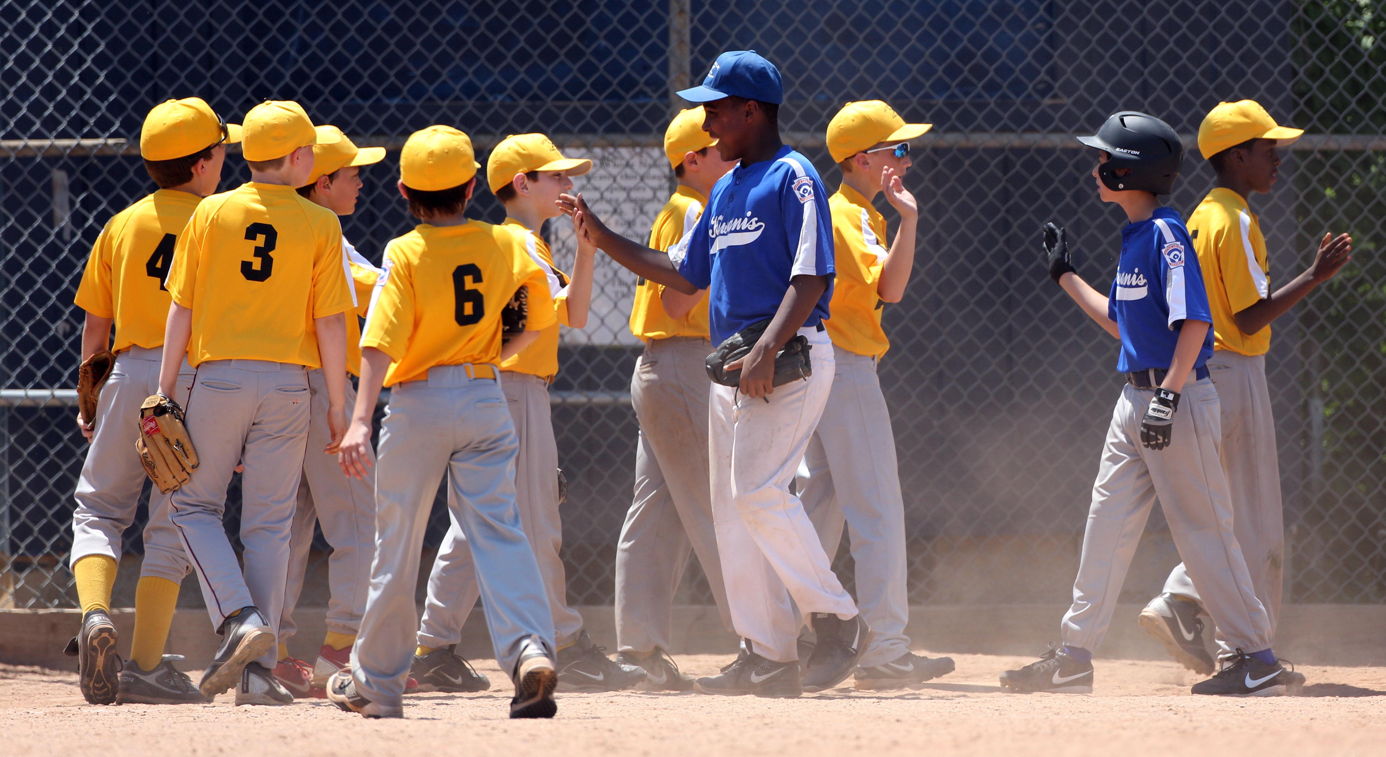 Baseball in America.Norwalk Little League.