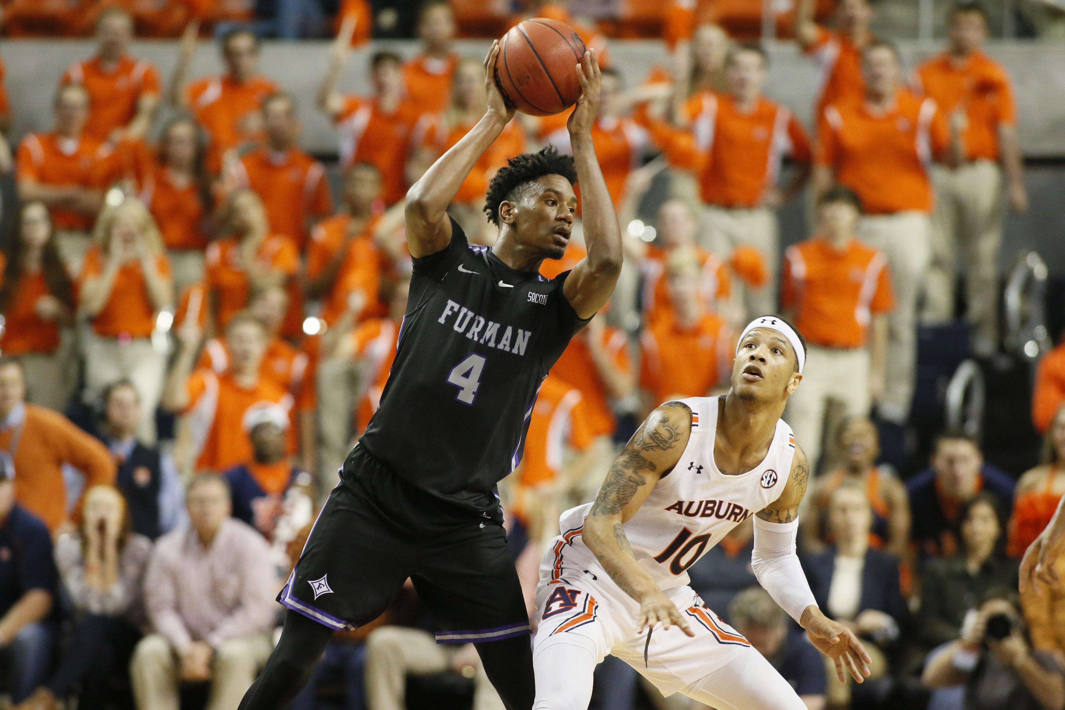 NCAA Basketball: Furman at Auburn