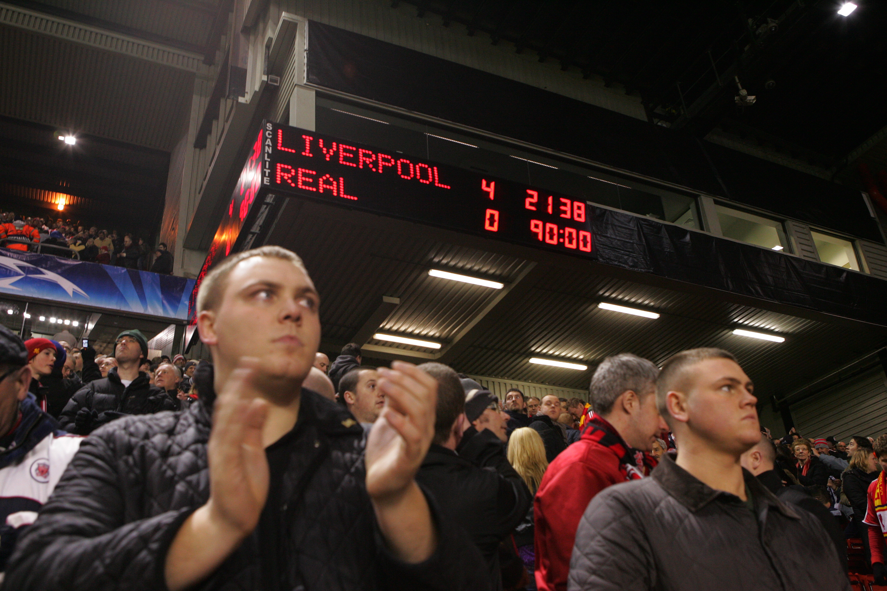 Soccer - UEFA Champions League - Liverpool vs. Real Madrid