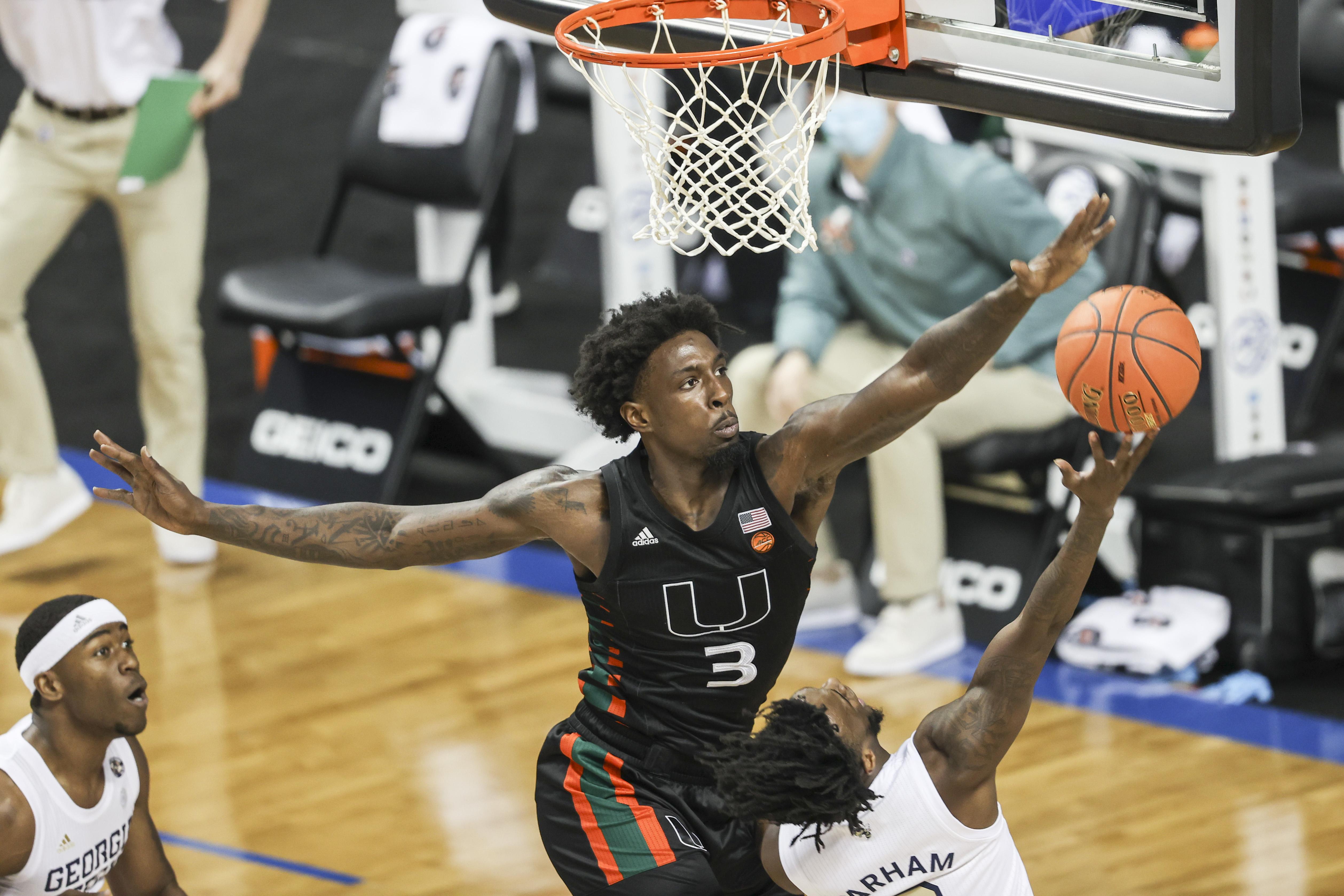 NCAA Basketball: ACC Conference Tournament-Miami Georgia Tech