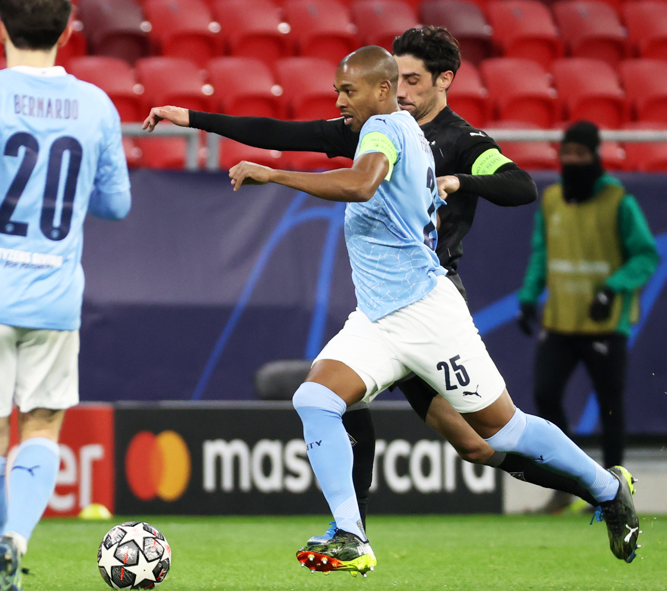 Manchester City v Bor. Mönchengladbach - UEFA Champions League Round Of 16 Leg Two