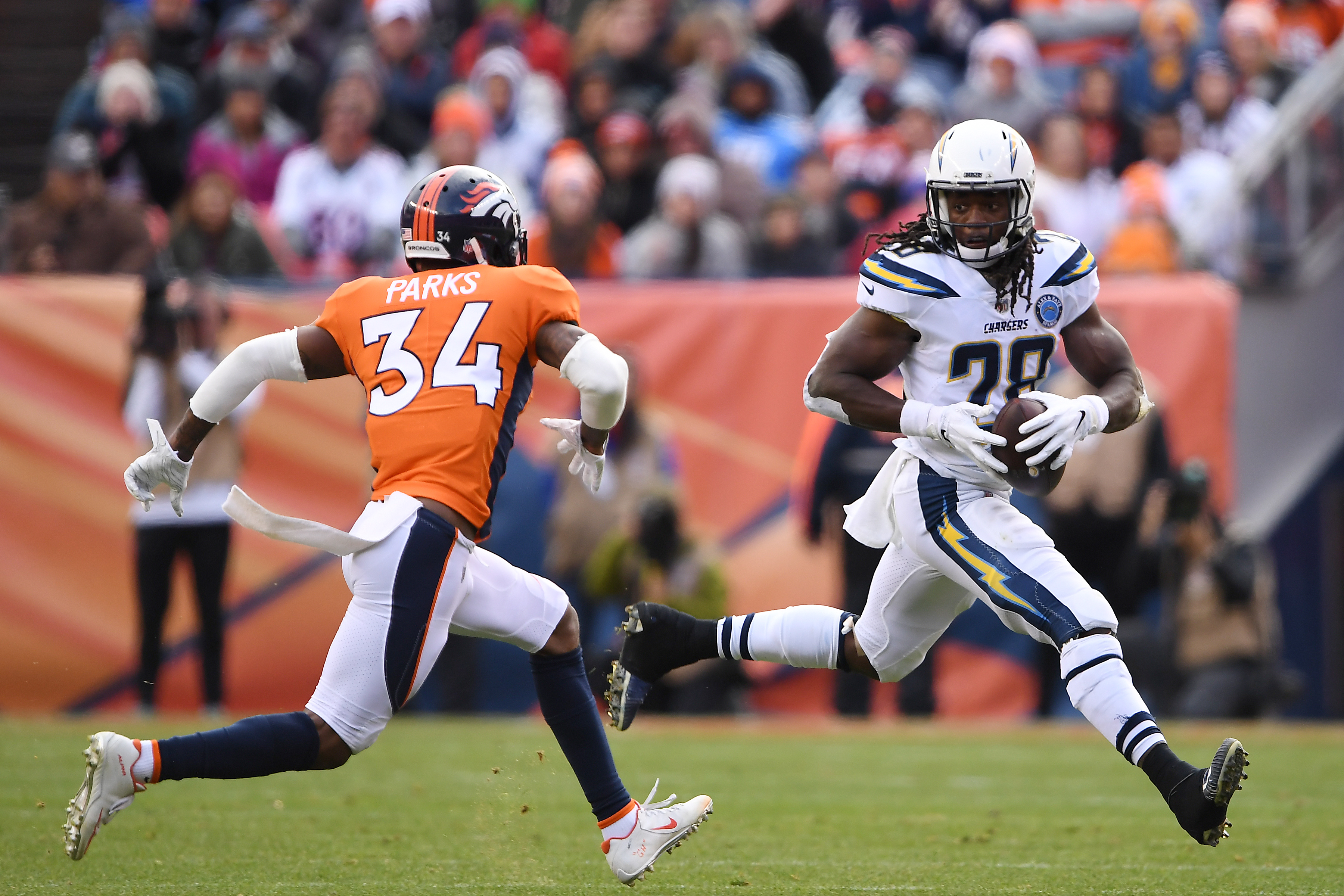 Denver Broncos vs. Los Angeles Chargers, NFL Week 16