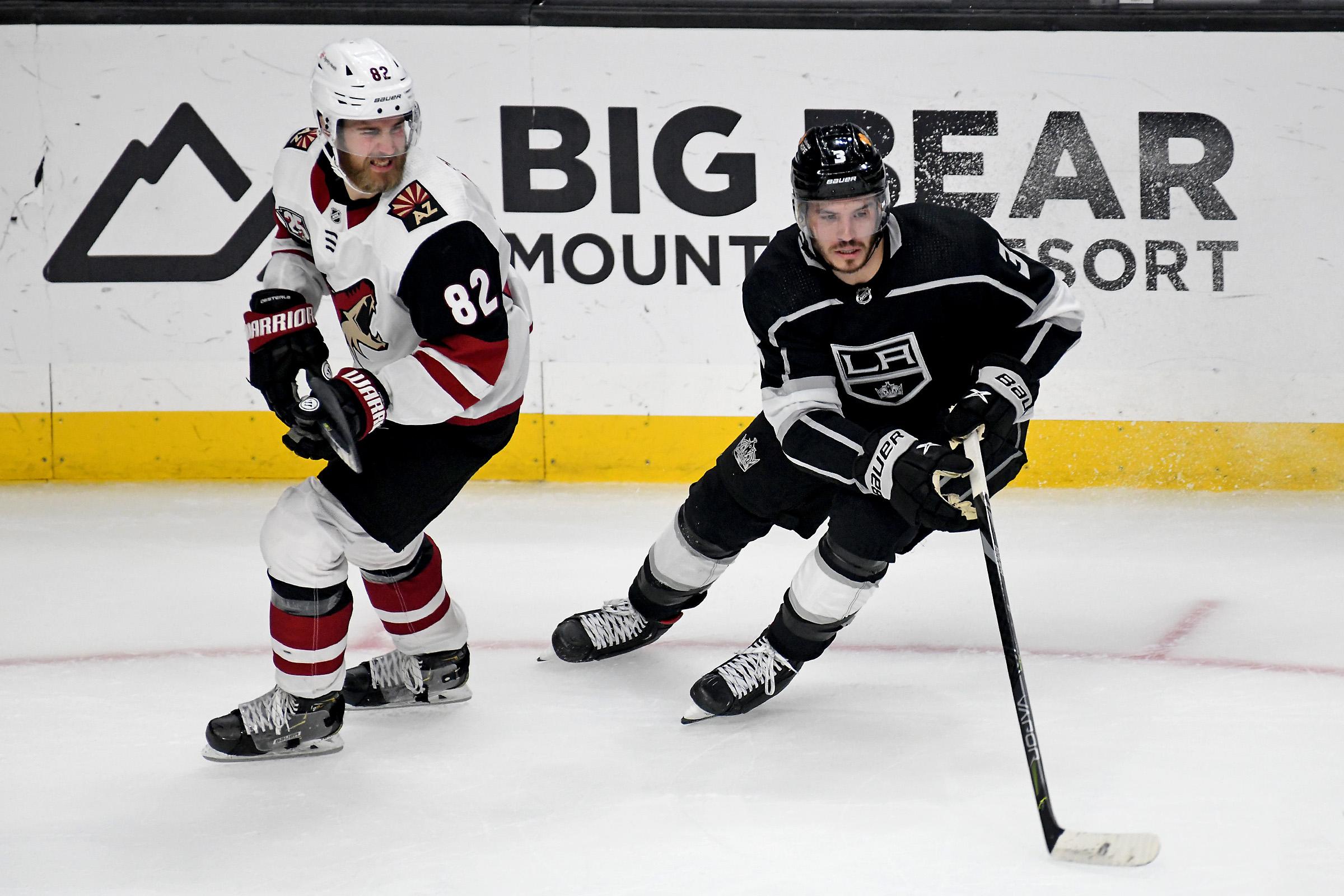 NHL: MAR 03 Coyotes at Kings