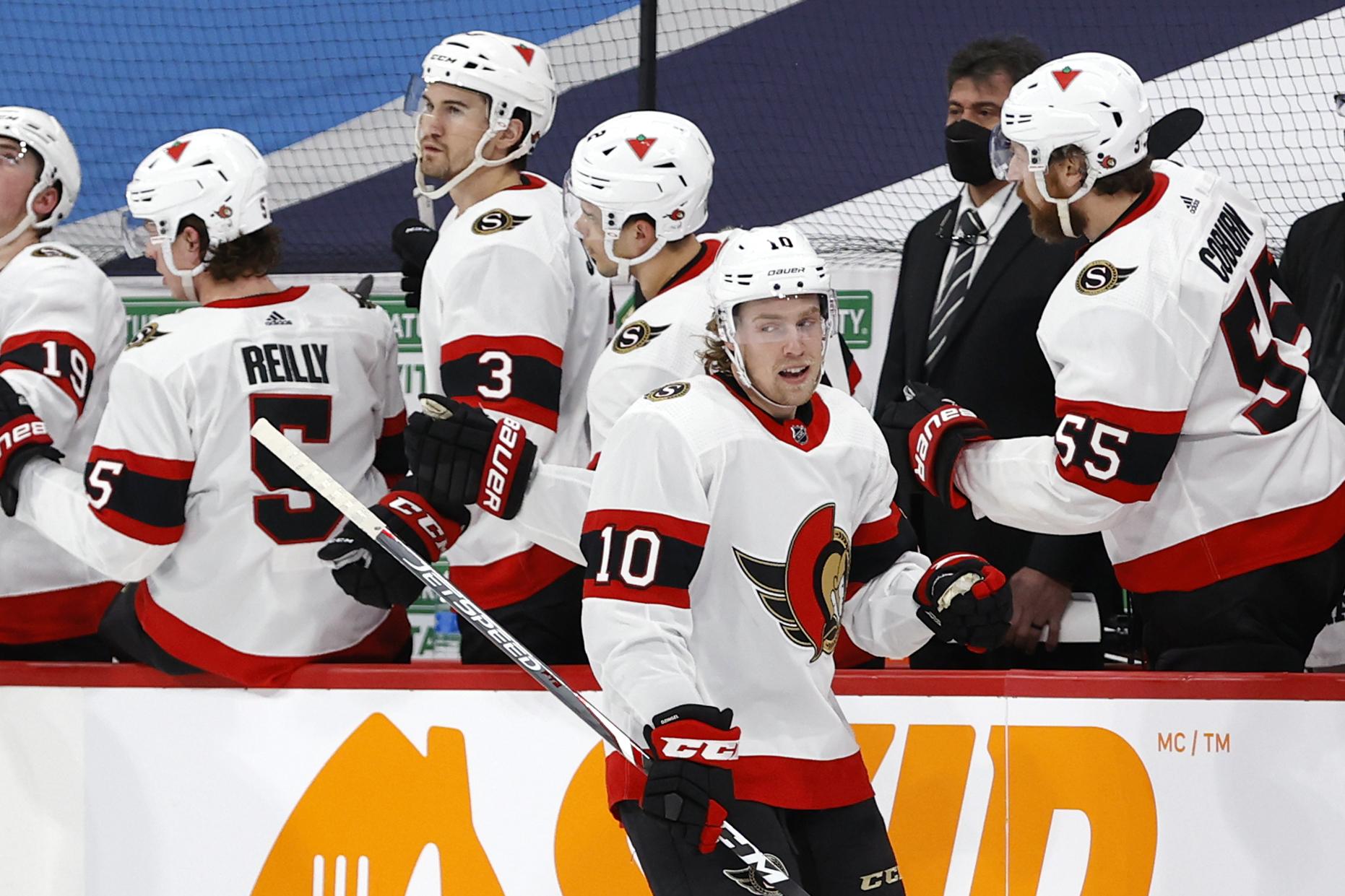 NHL: Ottawa Senators at Winnipeg Jets