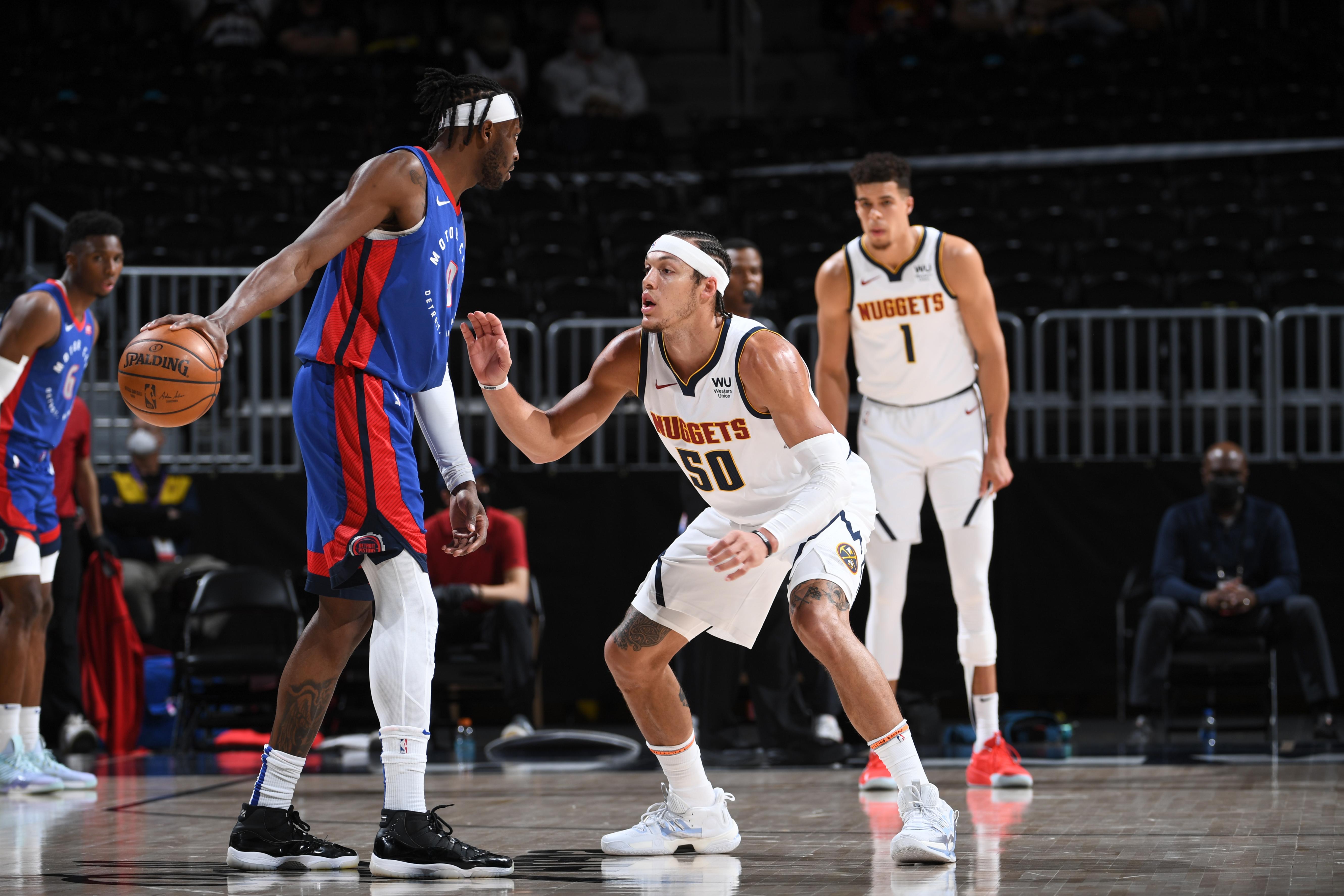 Detroit Pistons v Denver Nuggets