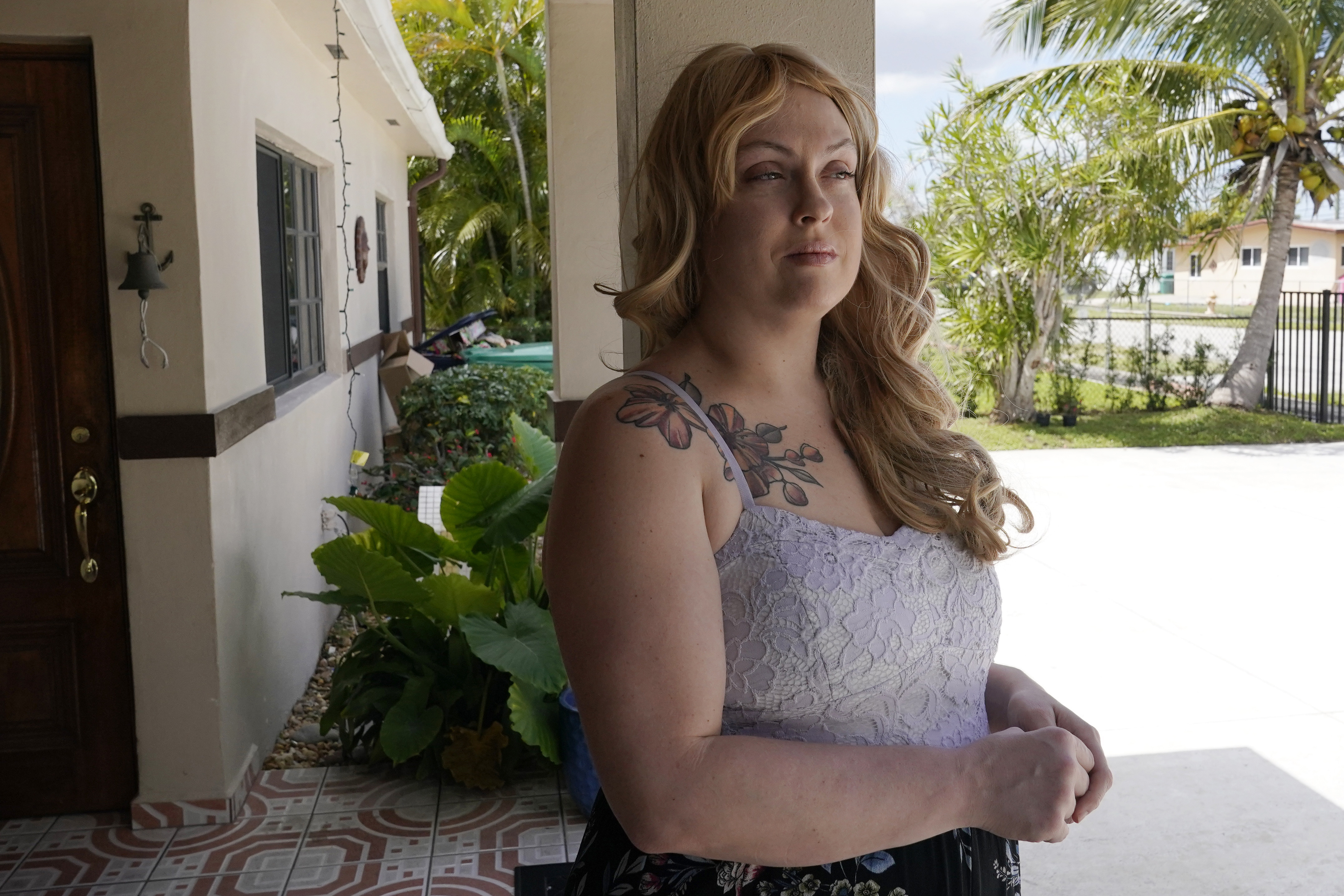 "Nicole Russell, who lives outside Miami, was fearful of leaving her home because of the coronavirus pandemic. She retreated to her bedroom for days at a time. While some felt restricted by the confinement of home ""caves,"" others found a sense of safety and comfort, becoming increasingly accustomed to the isolation."