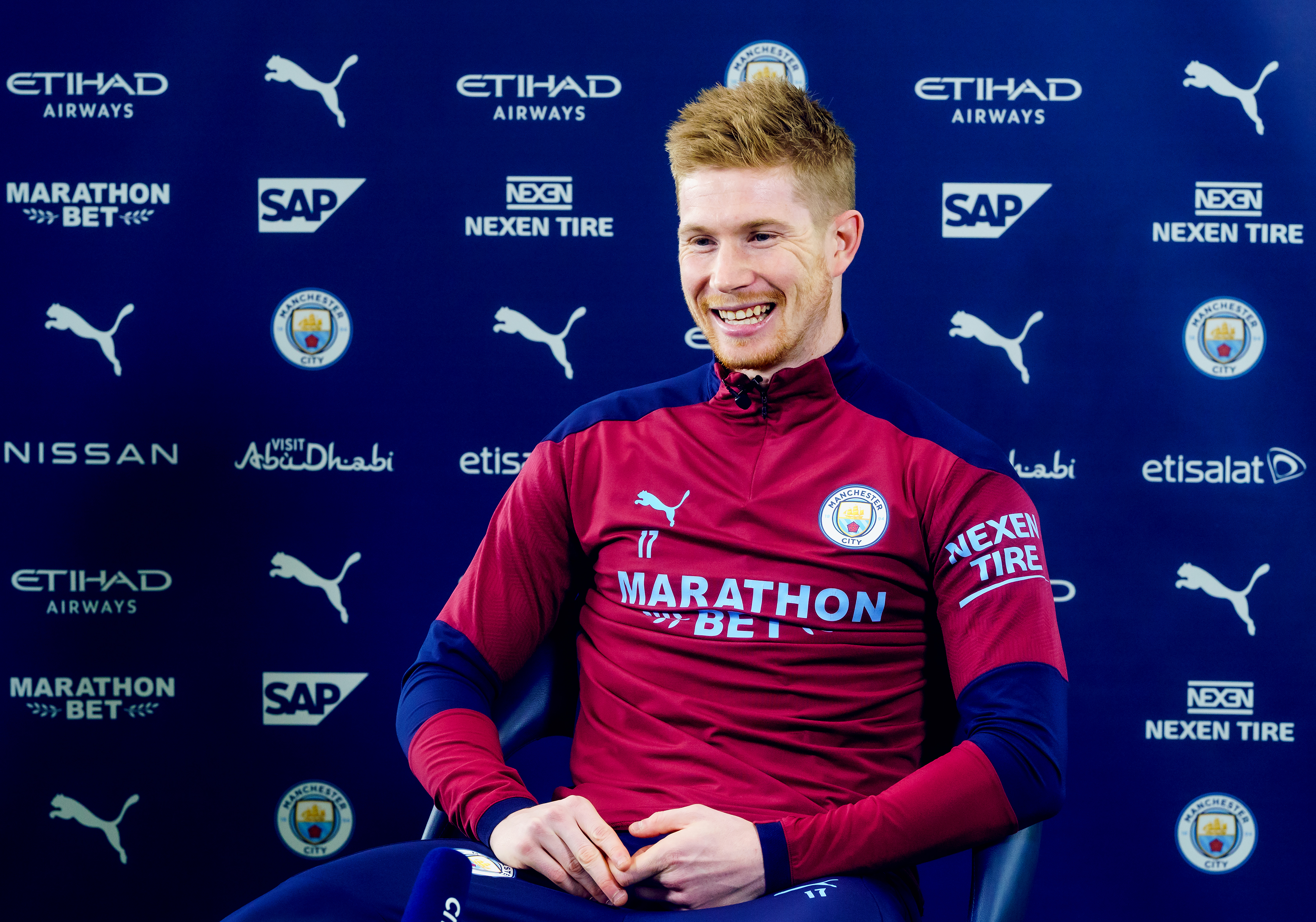 Kevin de Bruyne Signs a Contract Extension at Manchester City