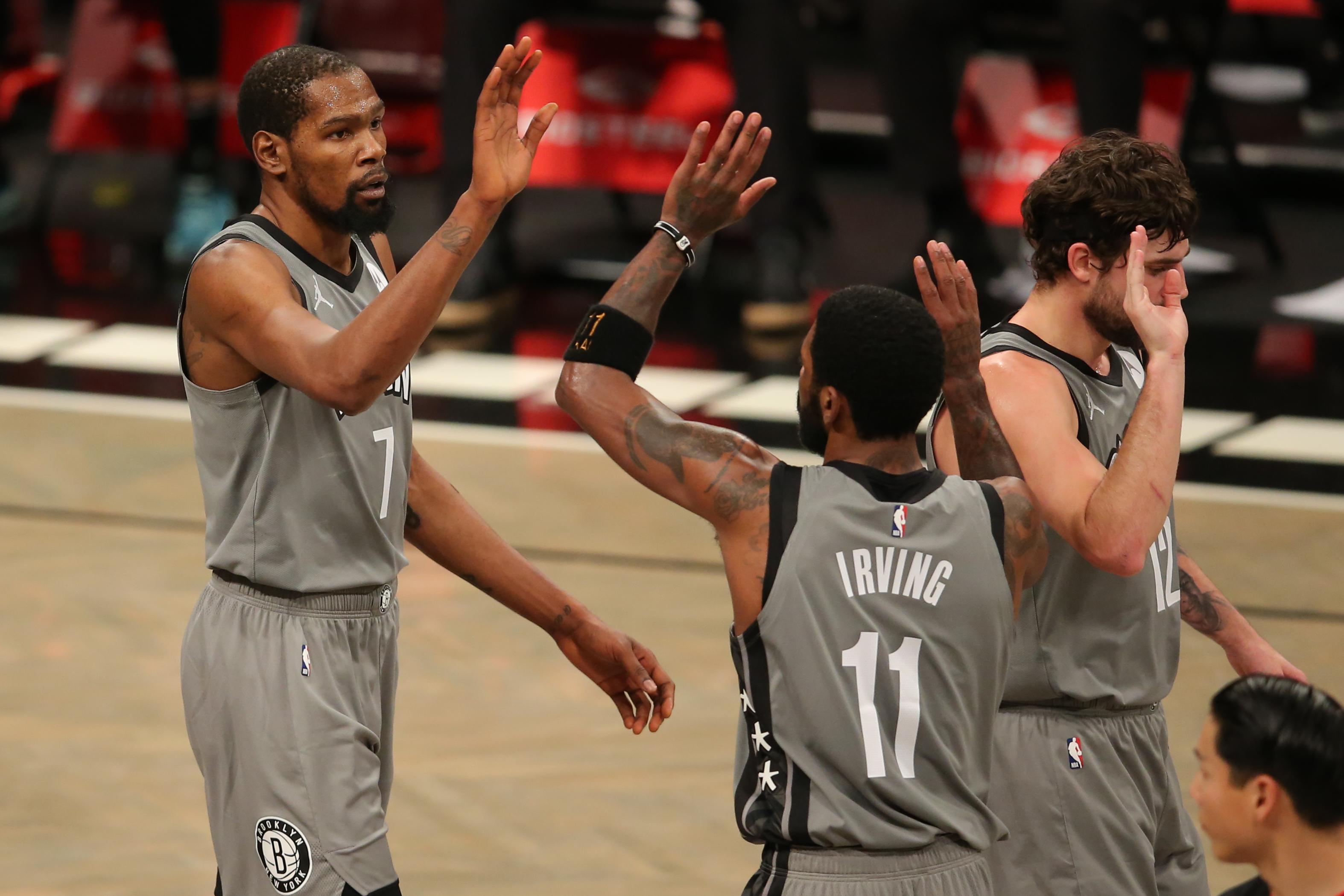 NBA: Washington Wizards at Brooklyn Nets
