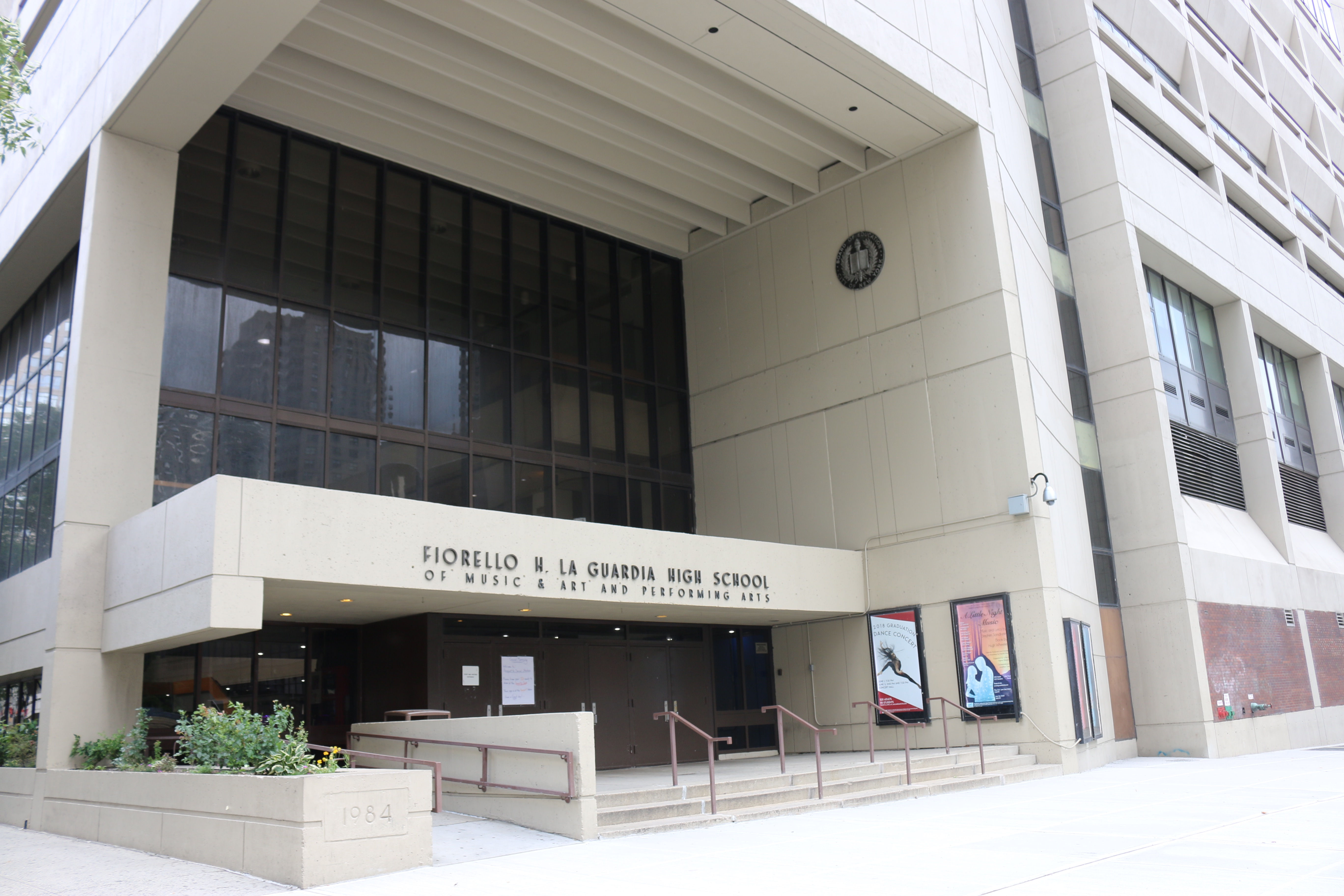 LaGuardia High School on the Upper West Side is one of the city's elite specialized high schools.