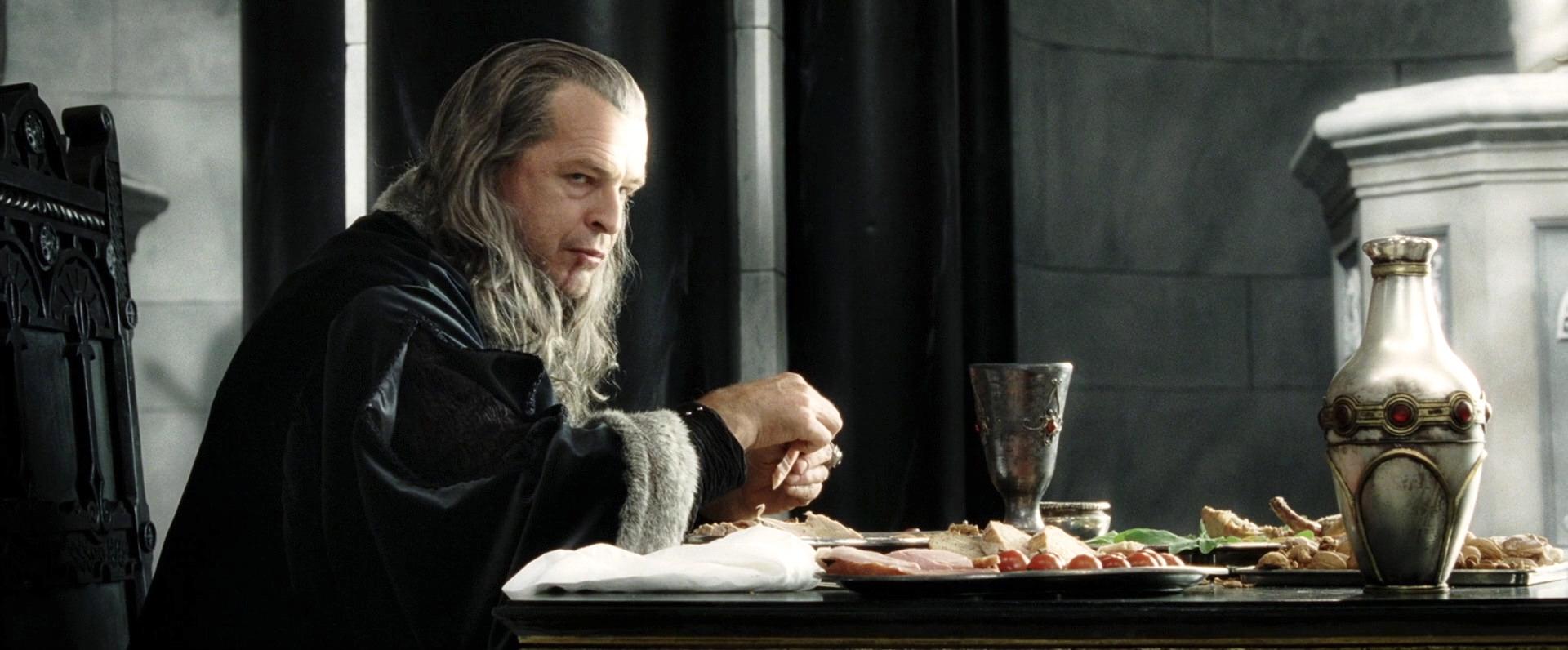 John Noble as Denethor, Steward of Gondor in The Return of the King.