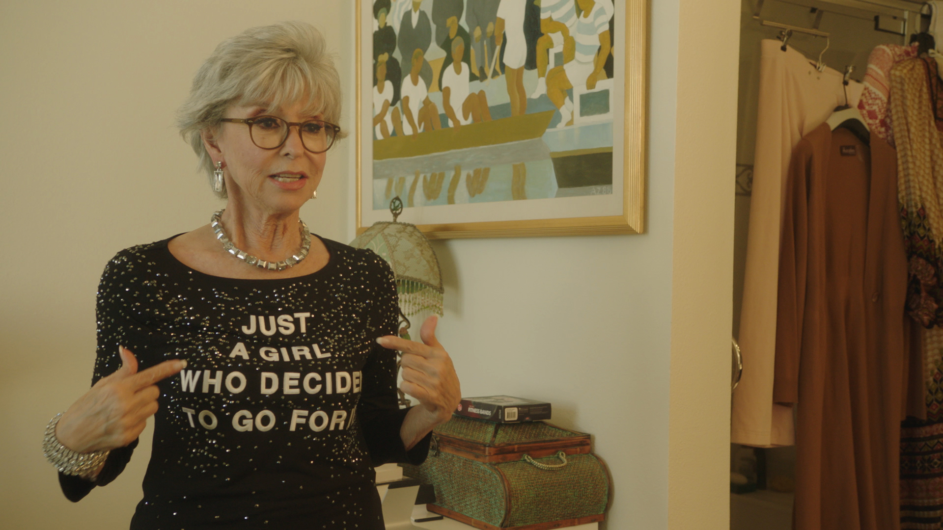 """""""Just a Girl Who Decided to Go For It,"""" starring Rita Moreno, will be screened at the Chicago Latino Film Festival."""