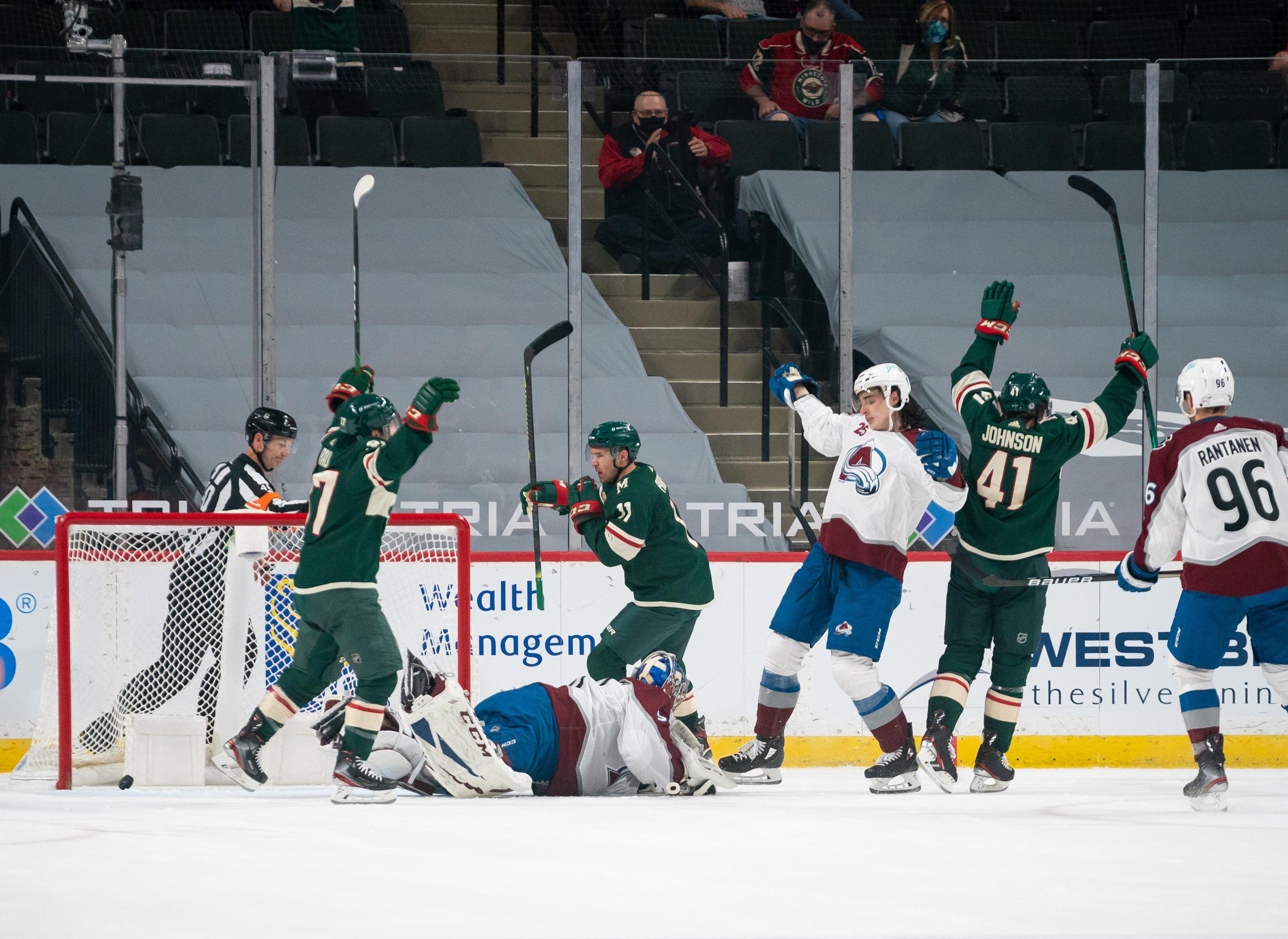 NHL: Colorado Avalanche at Minnesota Wild