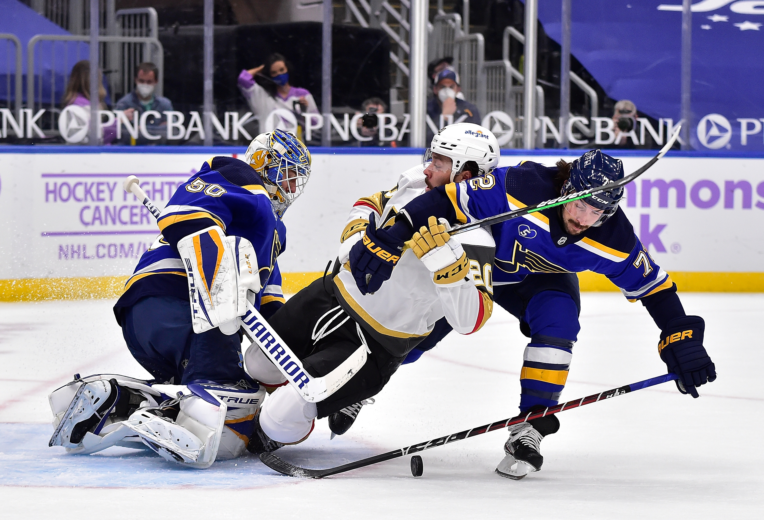 NHL: Vegas Golden Knights at St. Louis Blues