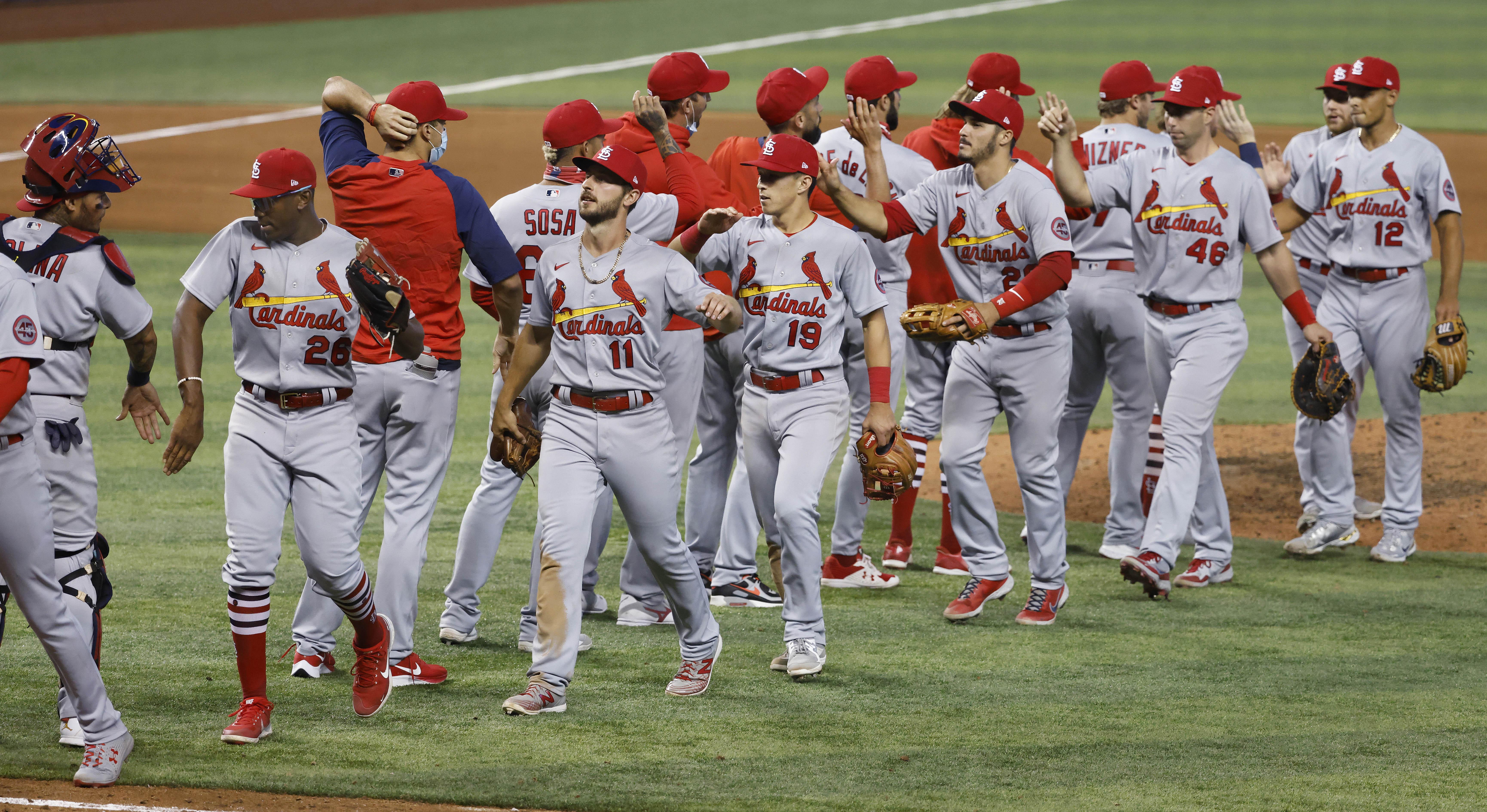 MLB:迈阿密马莱斯的圣路易斯红雀州