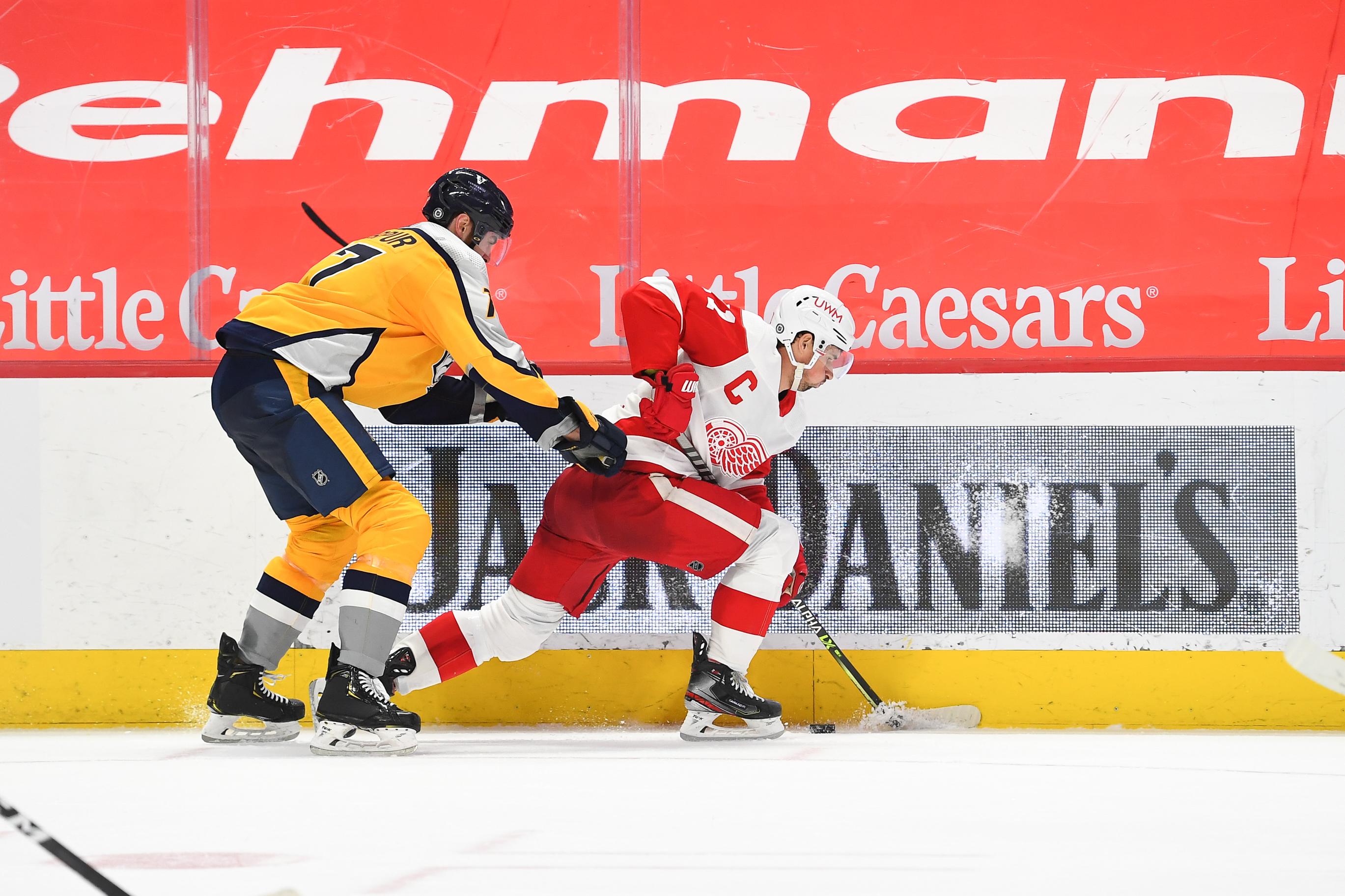 NHL: APR 06 Predators at Red Wings