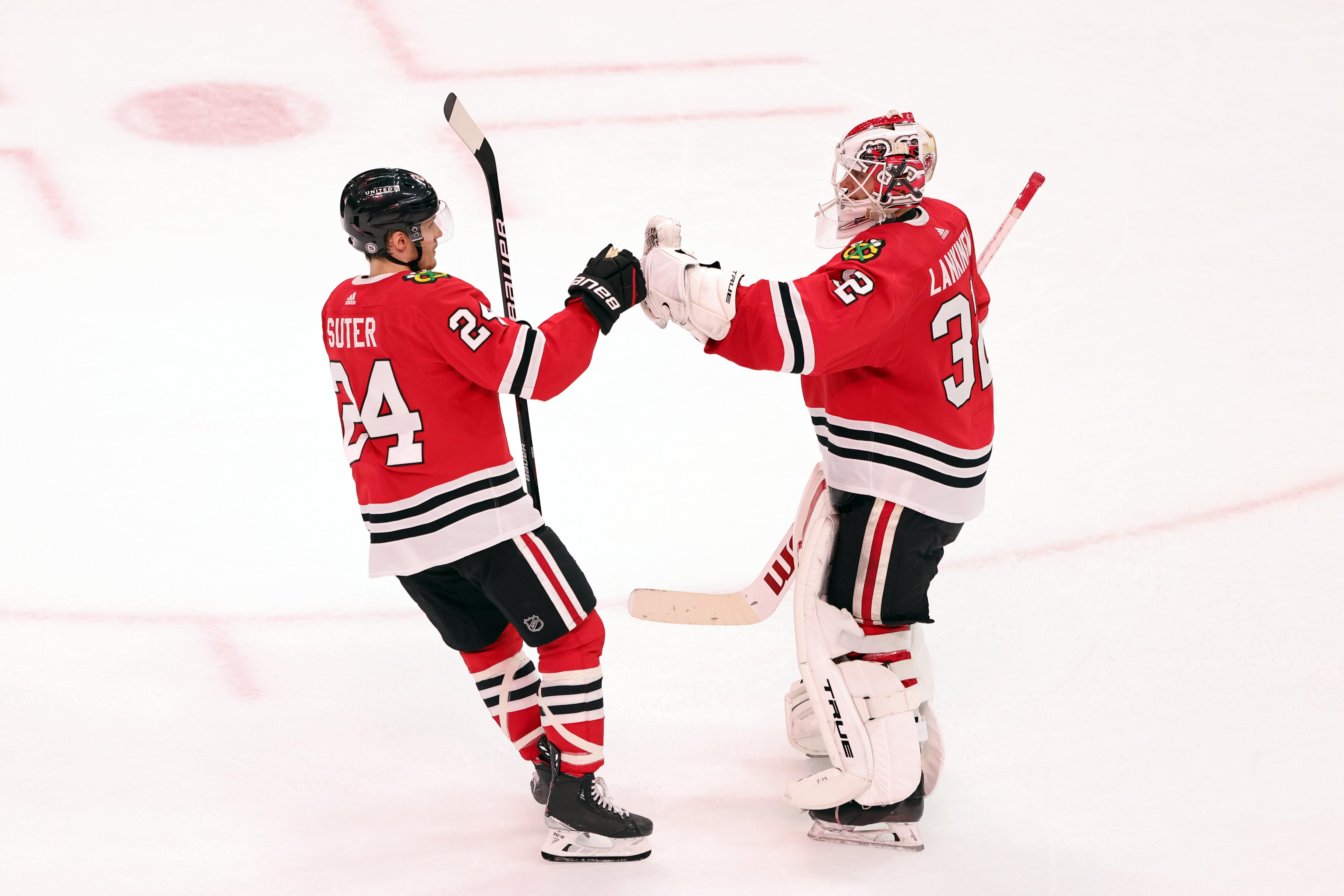 NHL: APR 06 Stars at Blackhawks