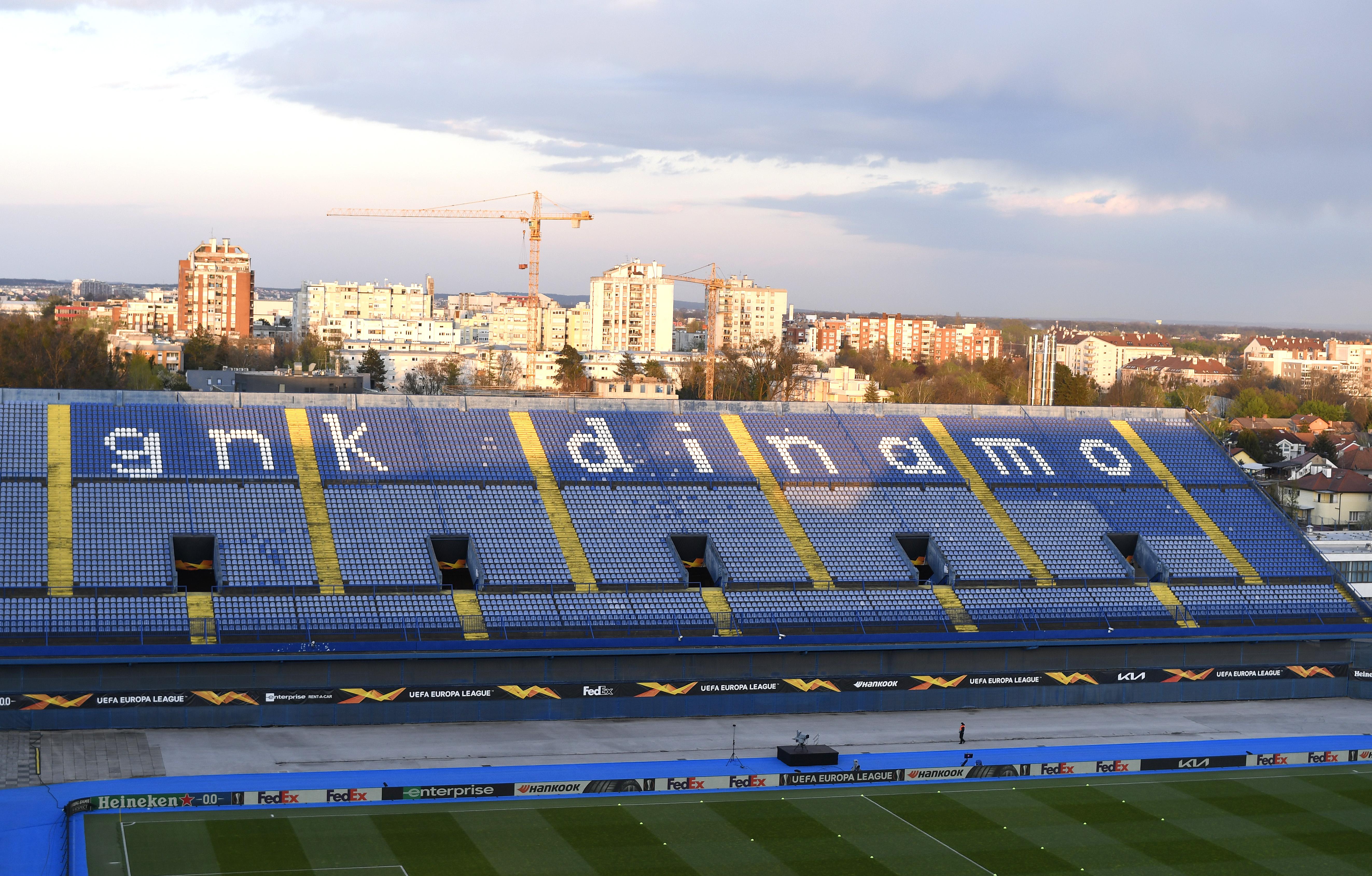 Dinamo Zagreb v Villarreal - UEFA Europa League Quarter Final: Leg One