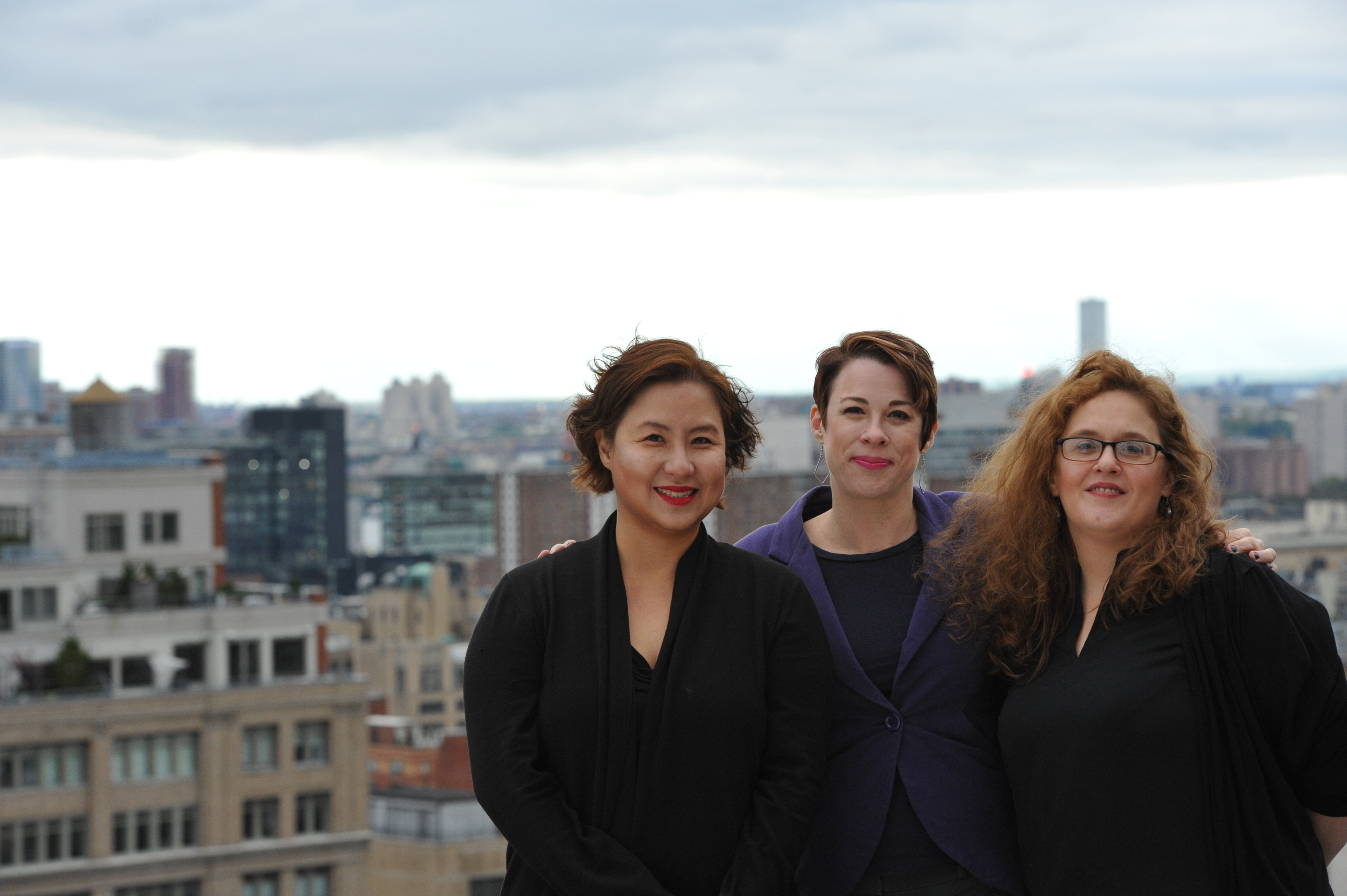 (Left to Right) A portrait of Jennifer Choi, Rachel Ford and Amber Decker.