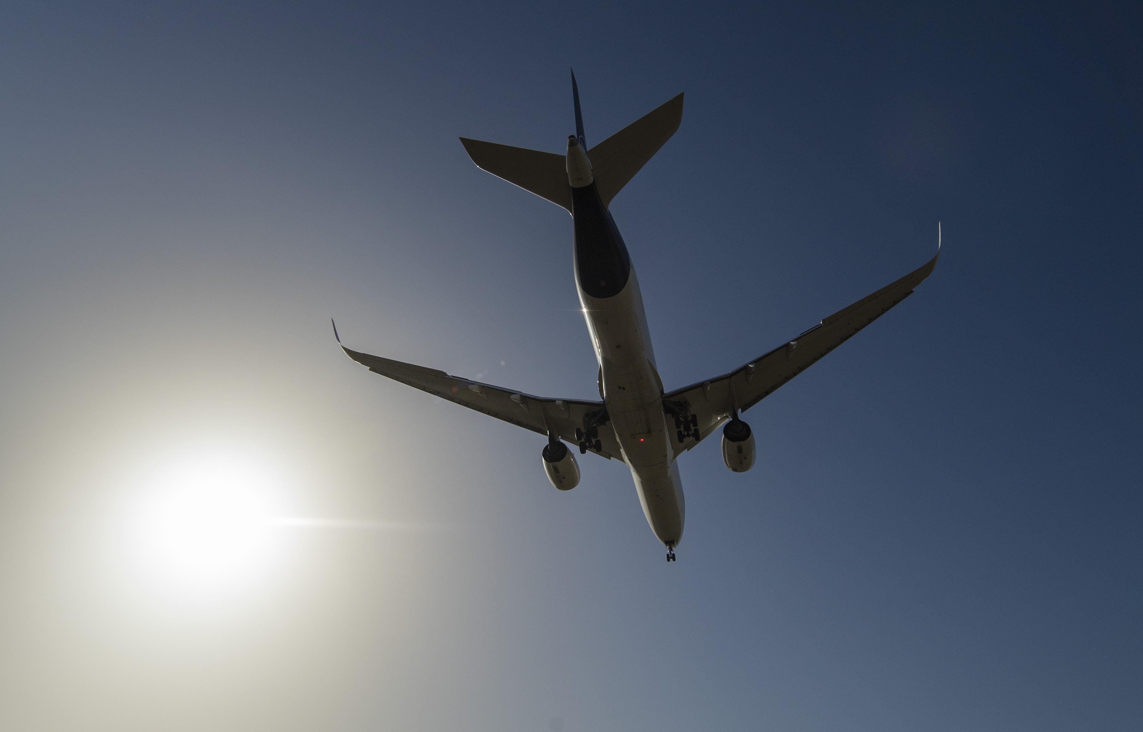 Disturbance of air traffic by drones