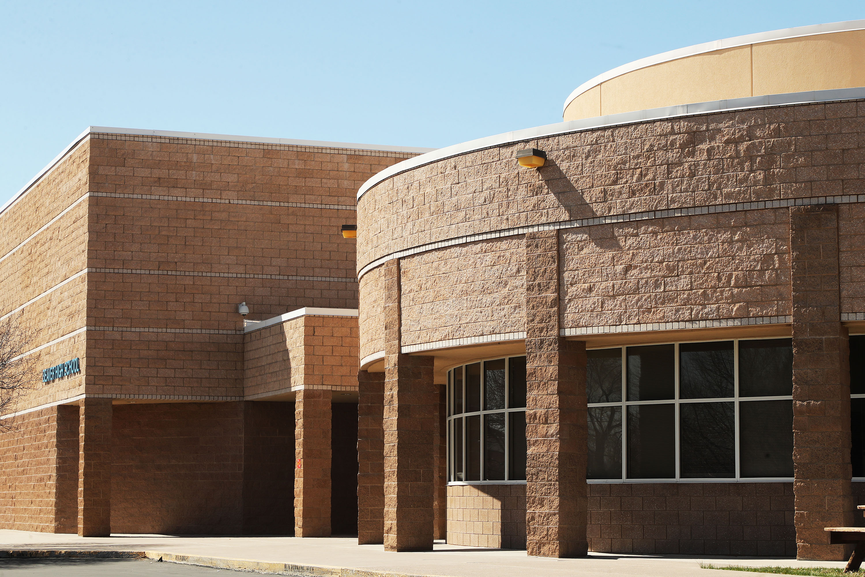 Beaver High School in Beaver is pictured on Wednesday, March 31, 2021.