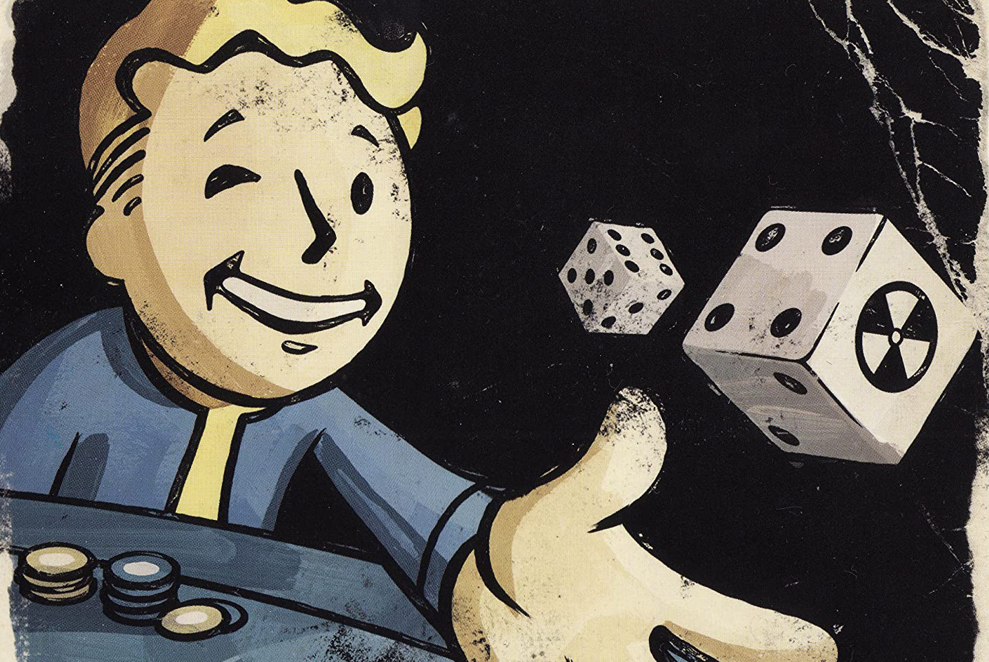Cover art from the Making Of documentary for Fallout: New Vegas gets repurposed as clip art in Fallout: The Roleplaying Game.
