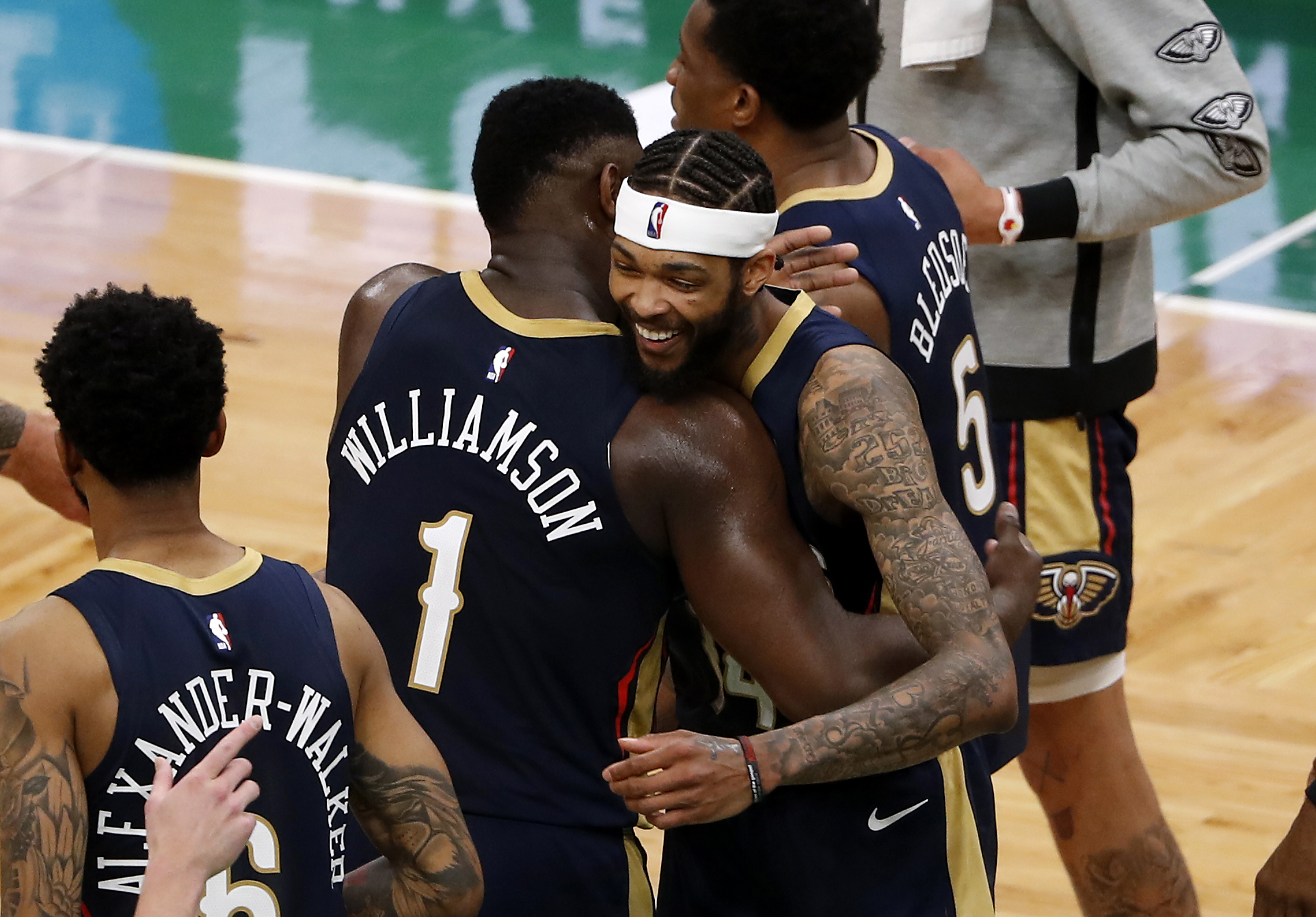 NBA: New Orleans Pelicans at Boston Celtics