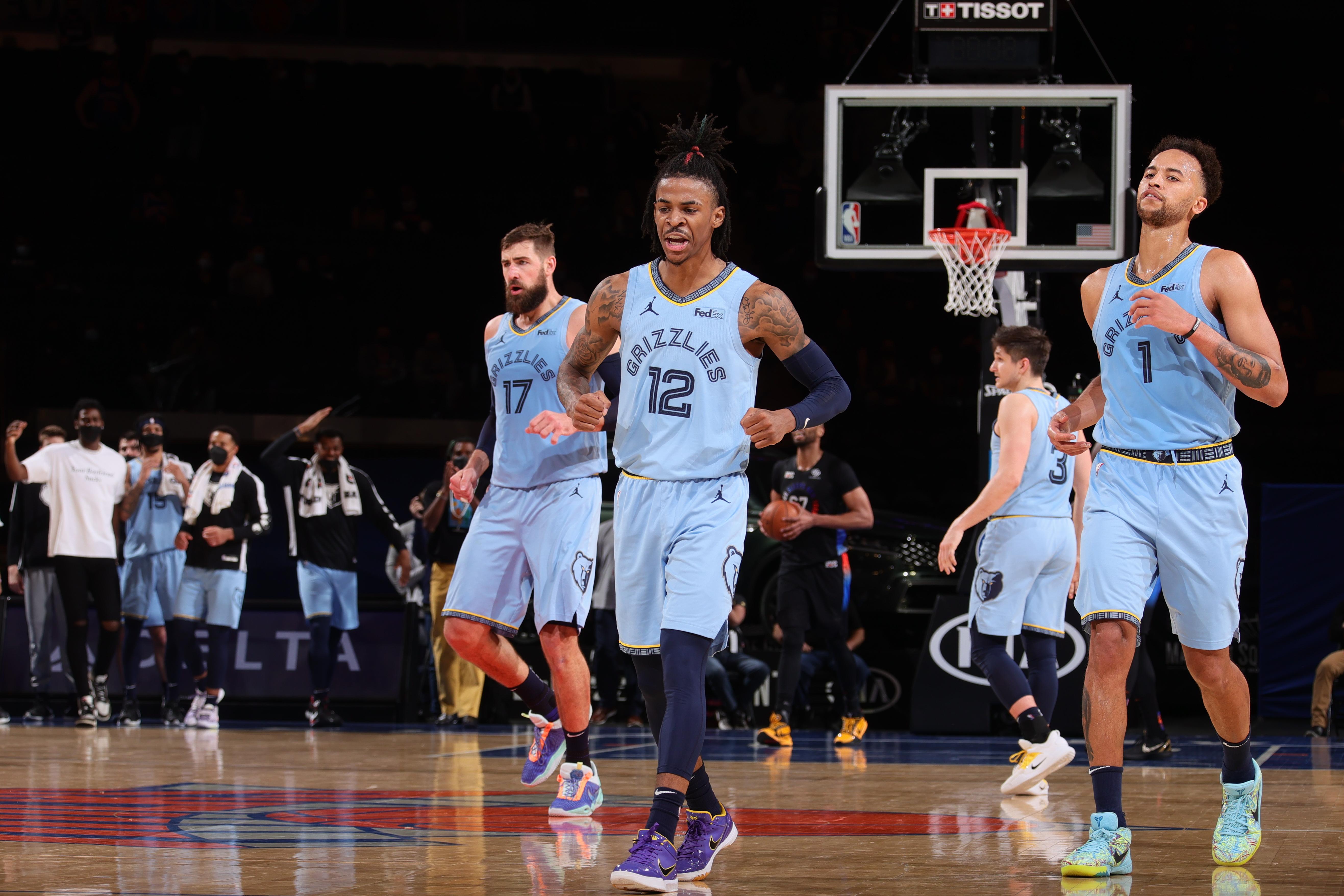 Memphis Grizzlies v New York Knicks
